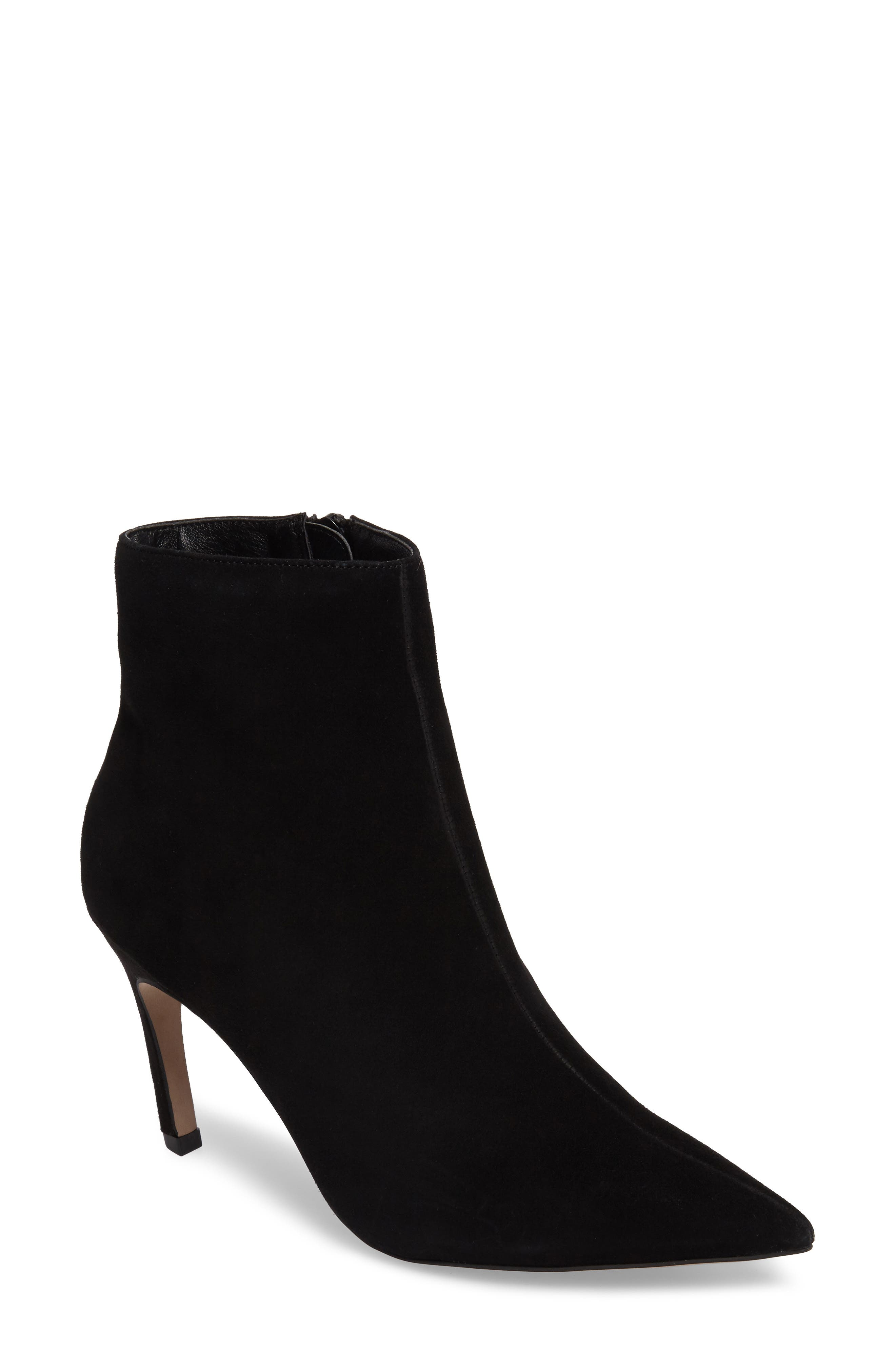 Hot Toddy Pointy Toe Boot,                         Main,                         color, Black