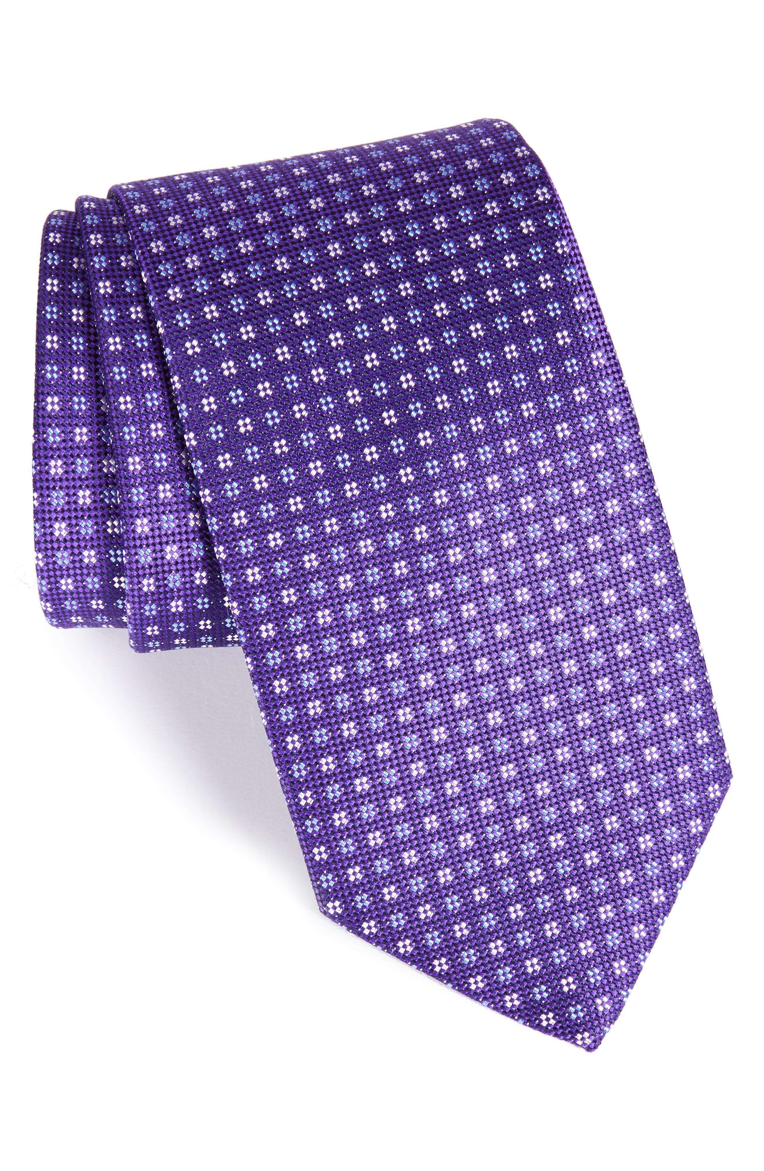 Main Image - Eton Neat Silk Tie