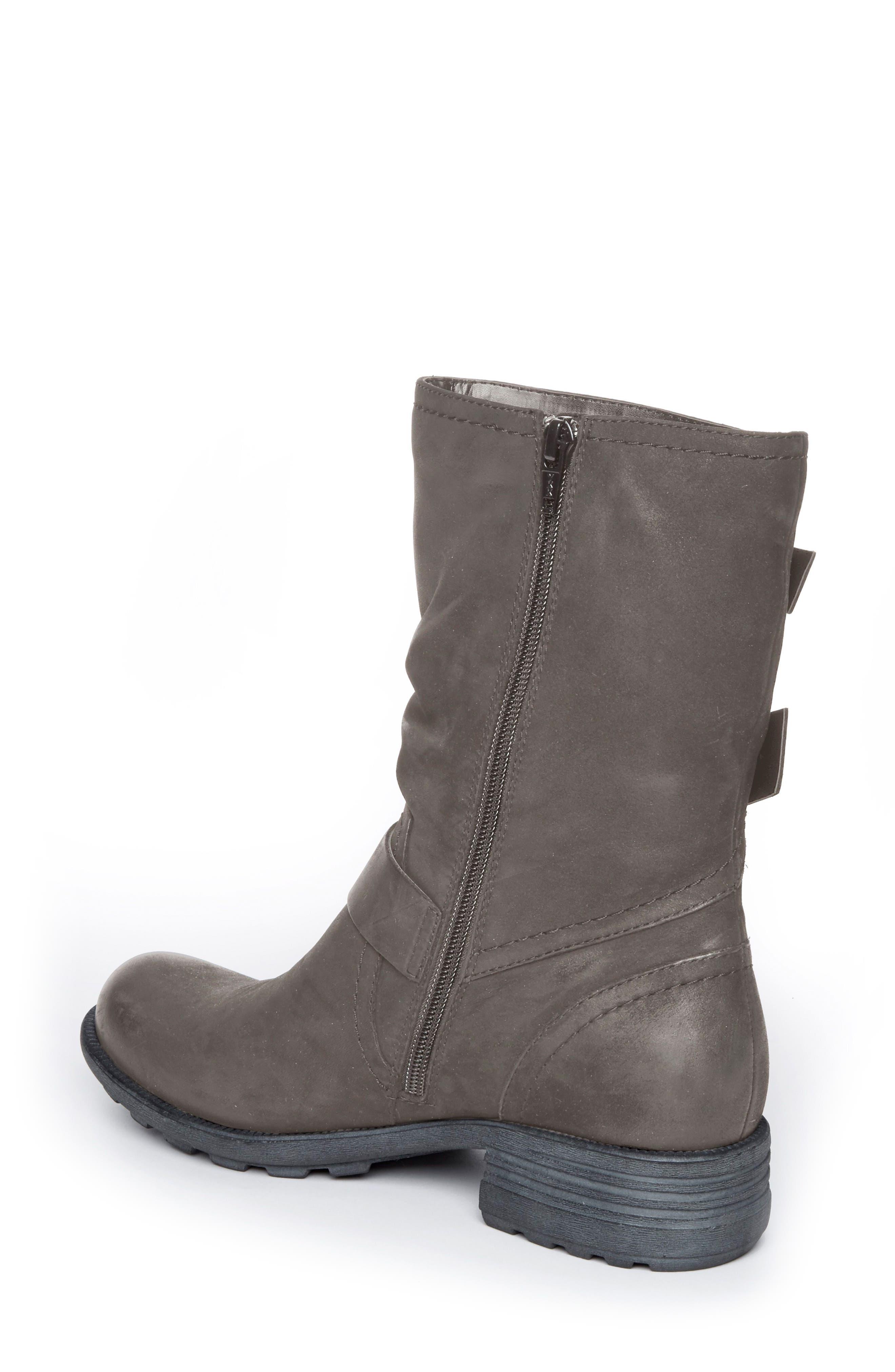 Brunswick Boot,                             Alternate thumbnail 2, color,                             Dark Grey Leather