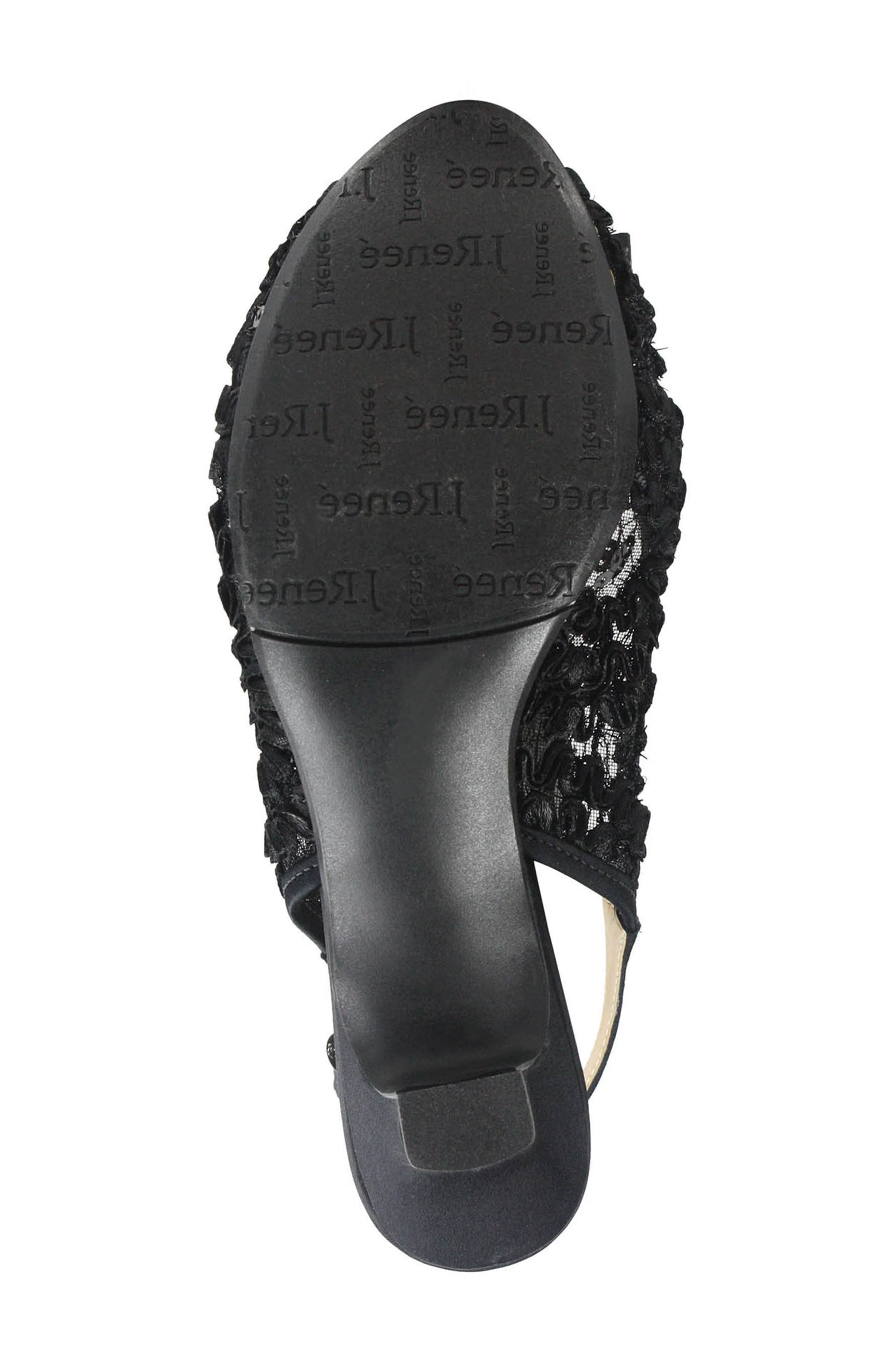 Alternate Image 5  - J. Reneé Landan Bow Slingback Sandal (Women)