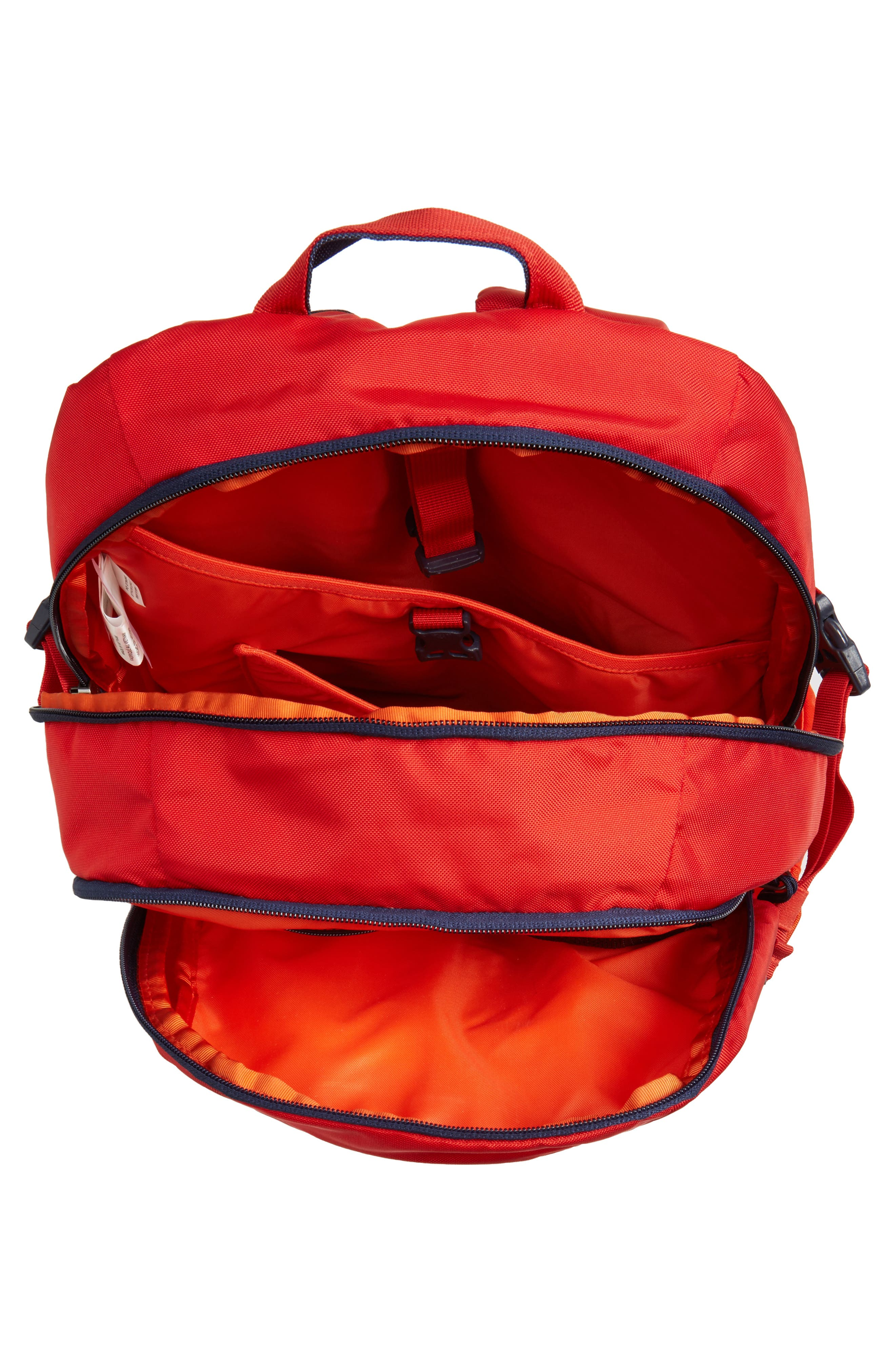 28L Refugio Backpack,                             Alternate thumbnail 3, color,                             Paintbrush Red