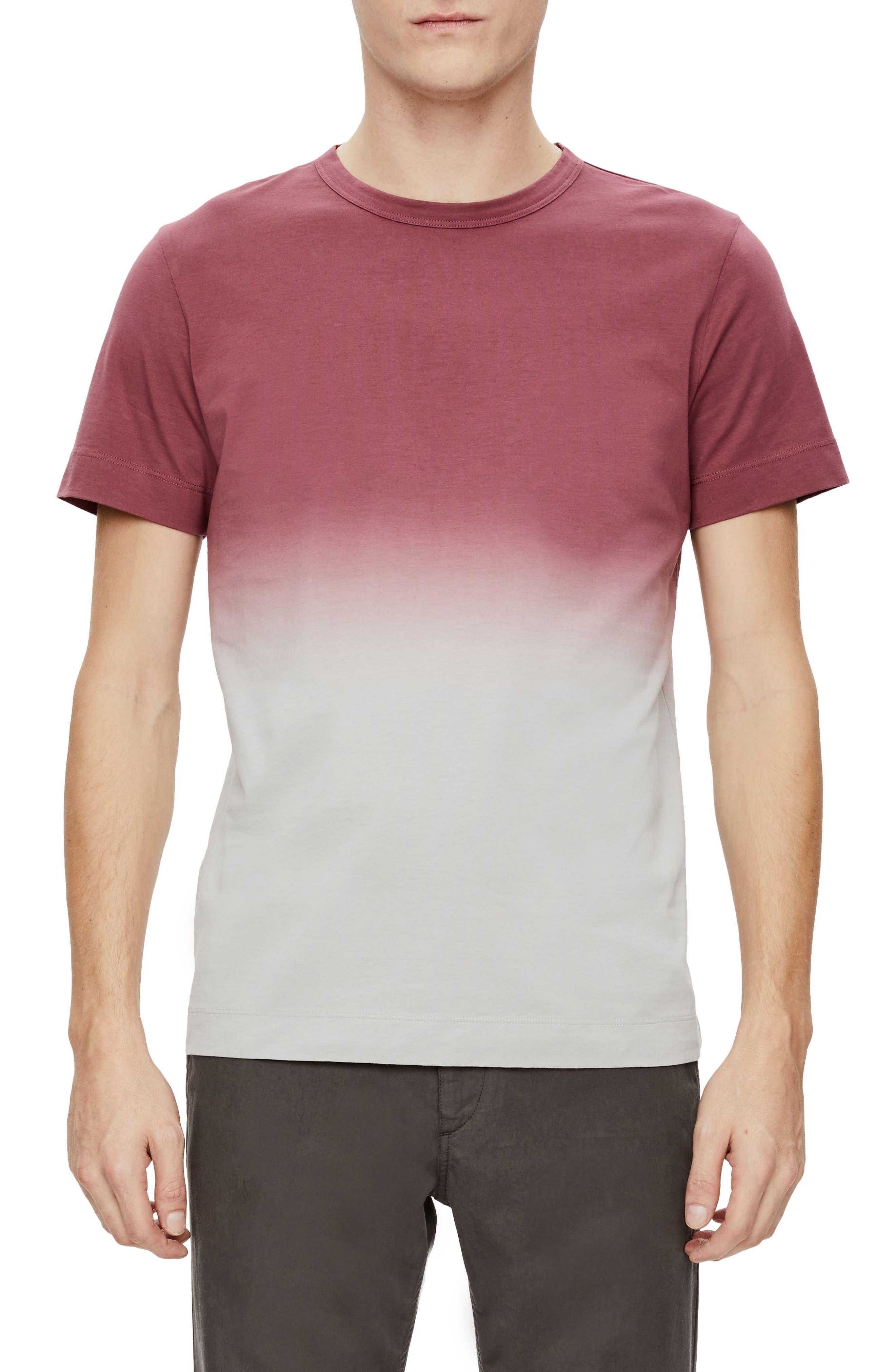 Theory Gaskell Dip Dye Ombré T-Shirt