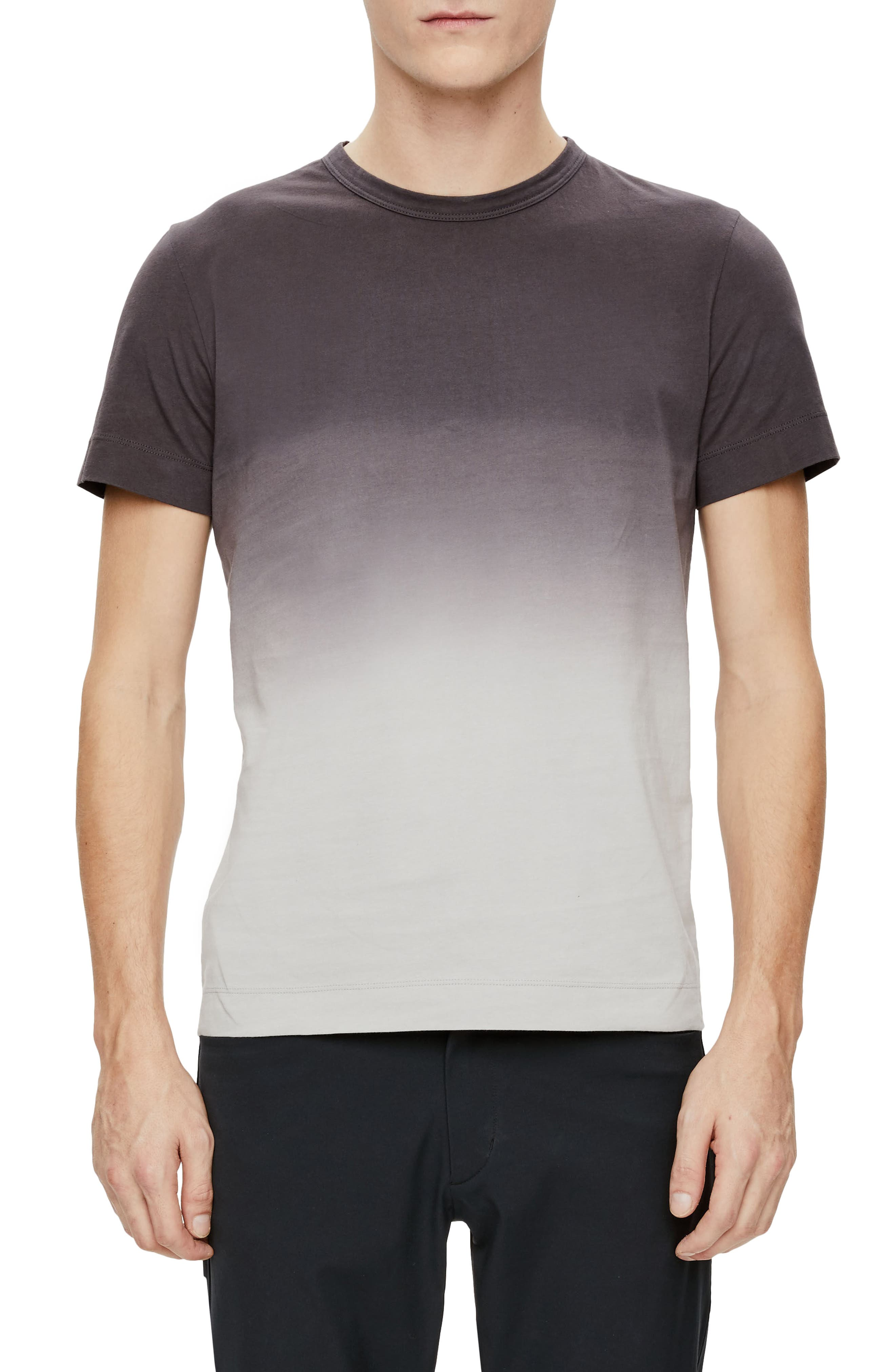 Gaskell Dip Dye Ombré T-Shirt,                         Main,                         color, Ember Multi