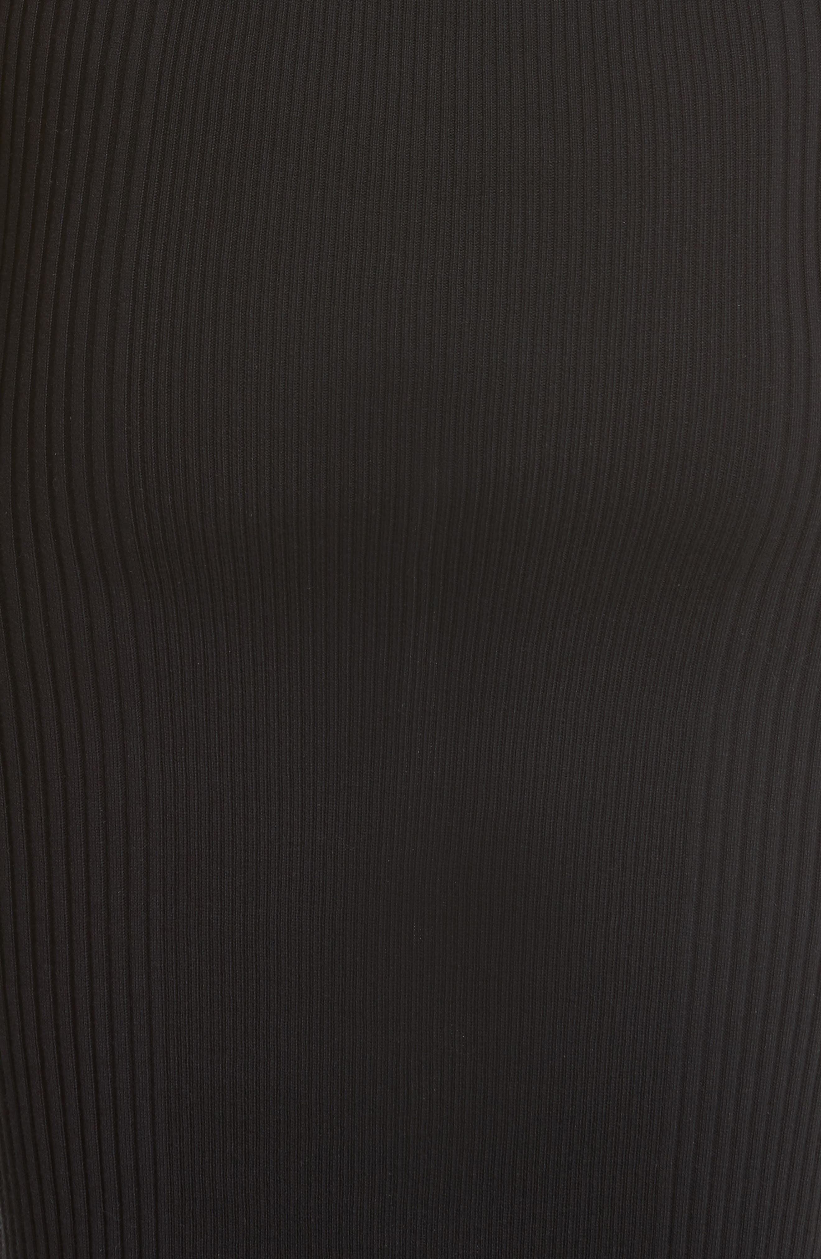 Alternate Image 5  - Alexander Wang Knit Cold Shoulder Dress