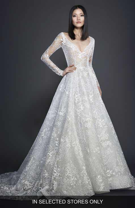 Long Sleeve Wedding Dresses Bridal Gowns Nordstrom