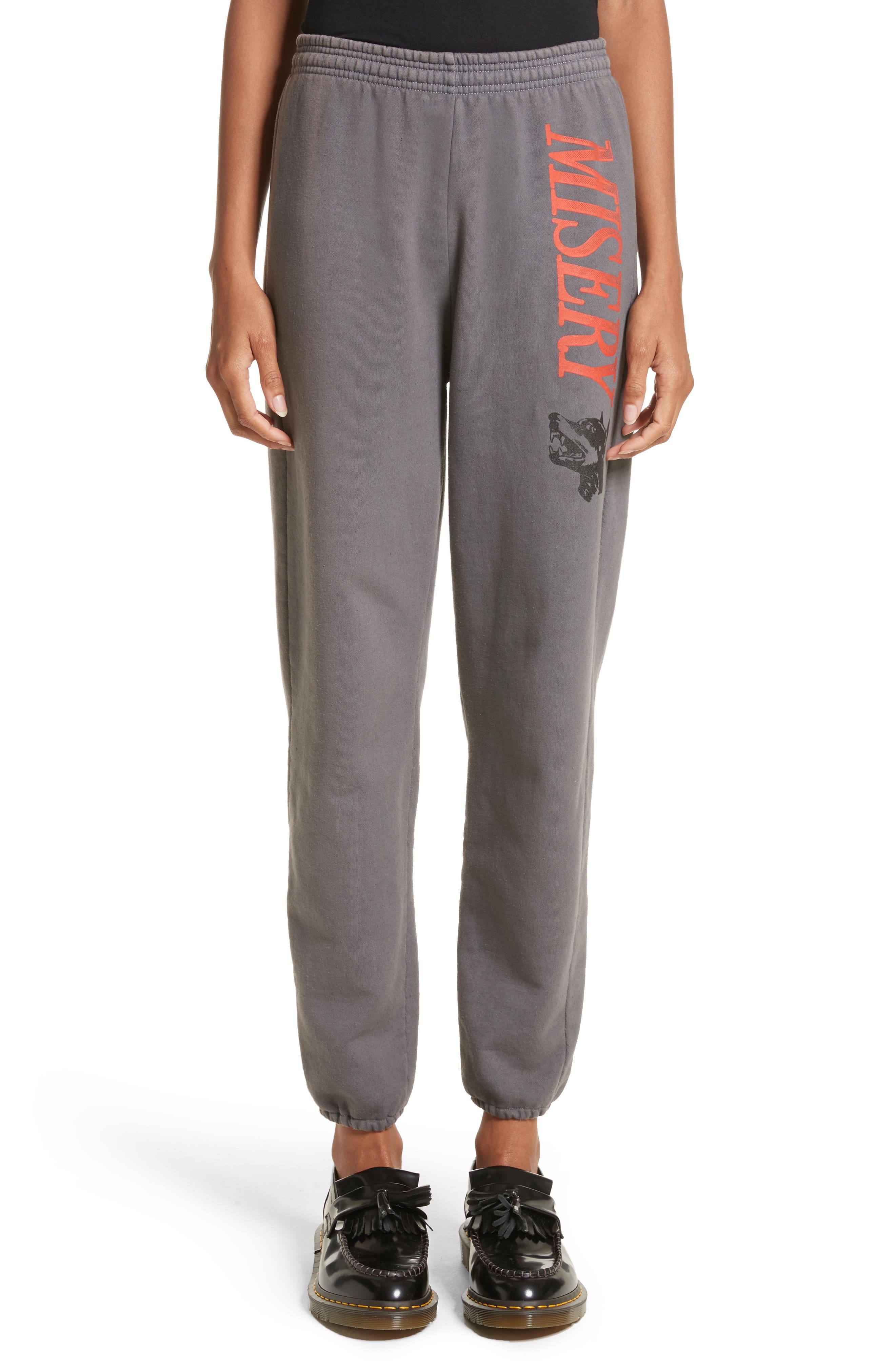 Ashley Williams Misery Logo Sweatpants