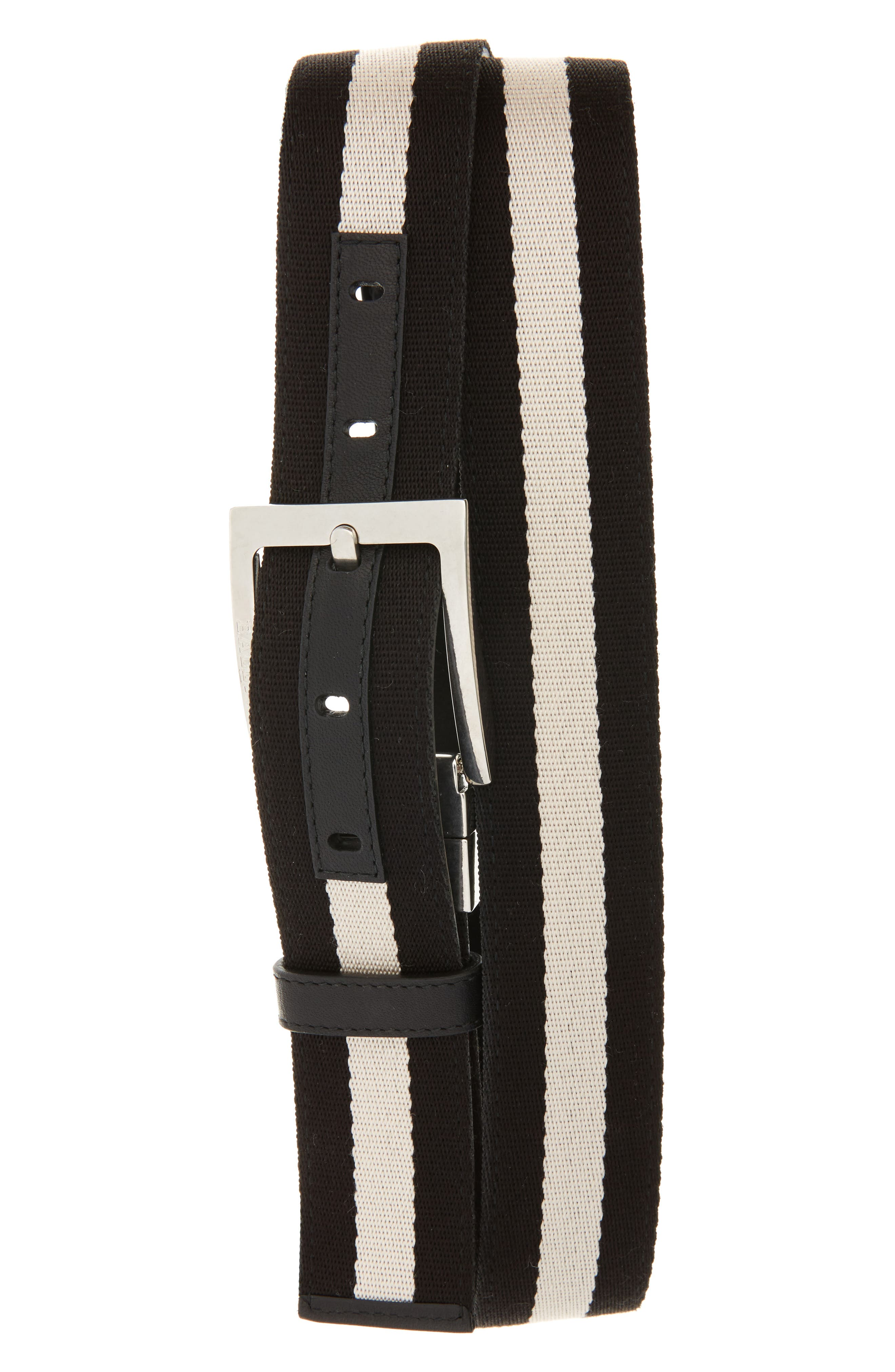 Tonni Reversible Belt,                         Main,                         color, Black