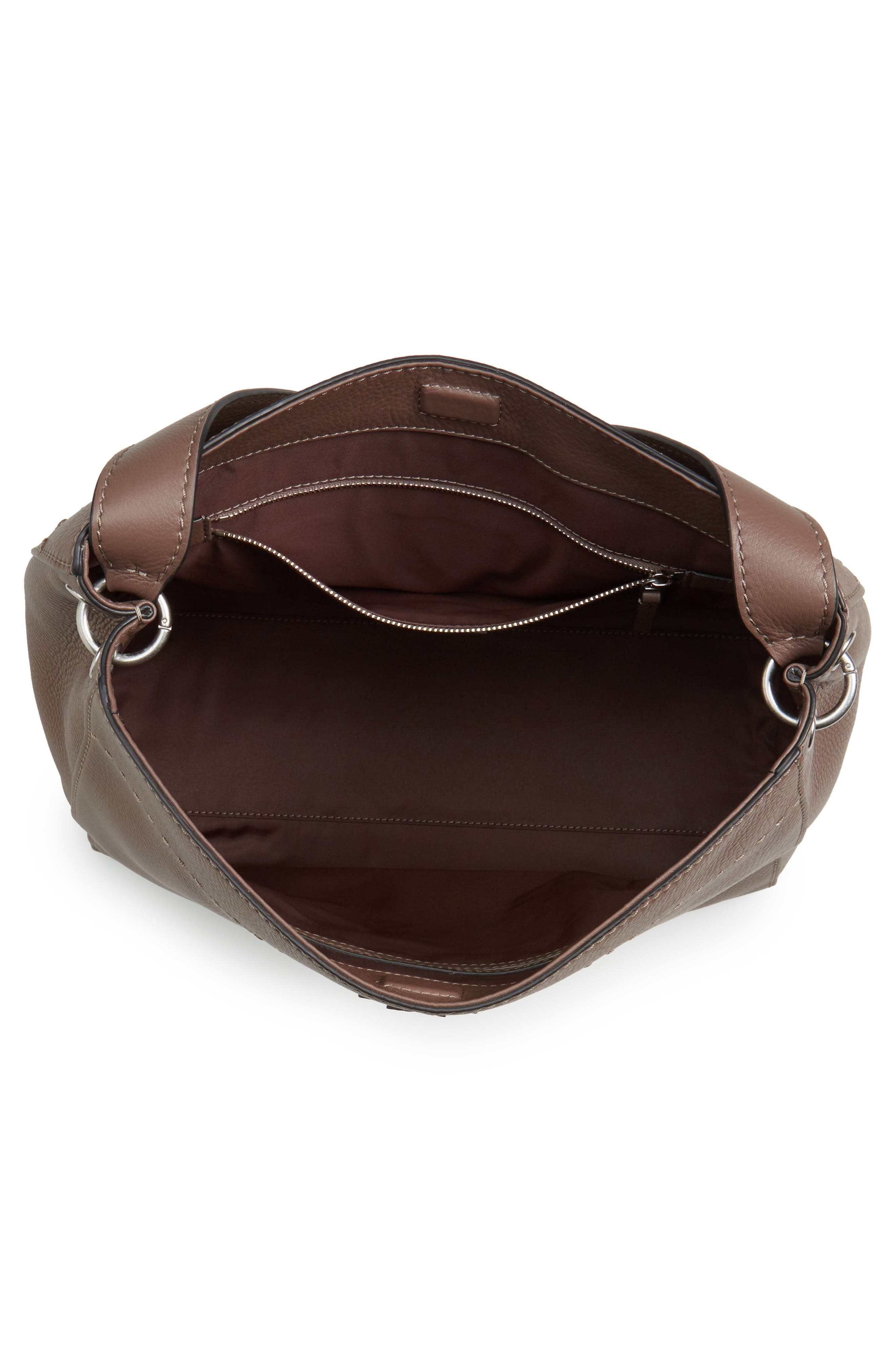 Alternate Image 4  - Tory Burch McGraw Leather Hobo