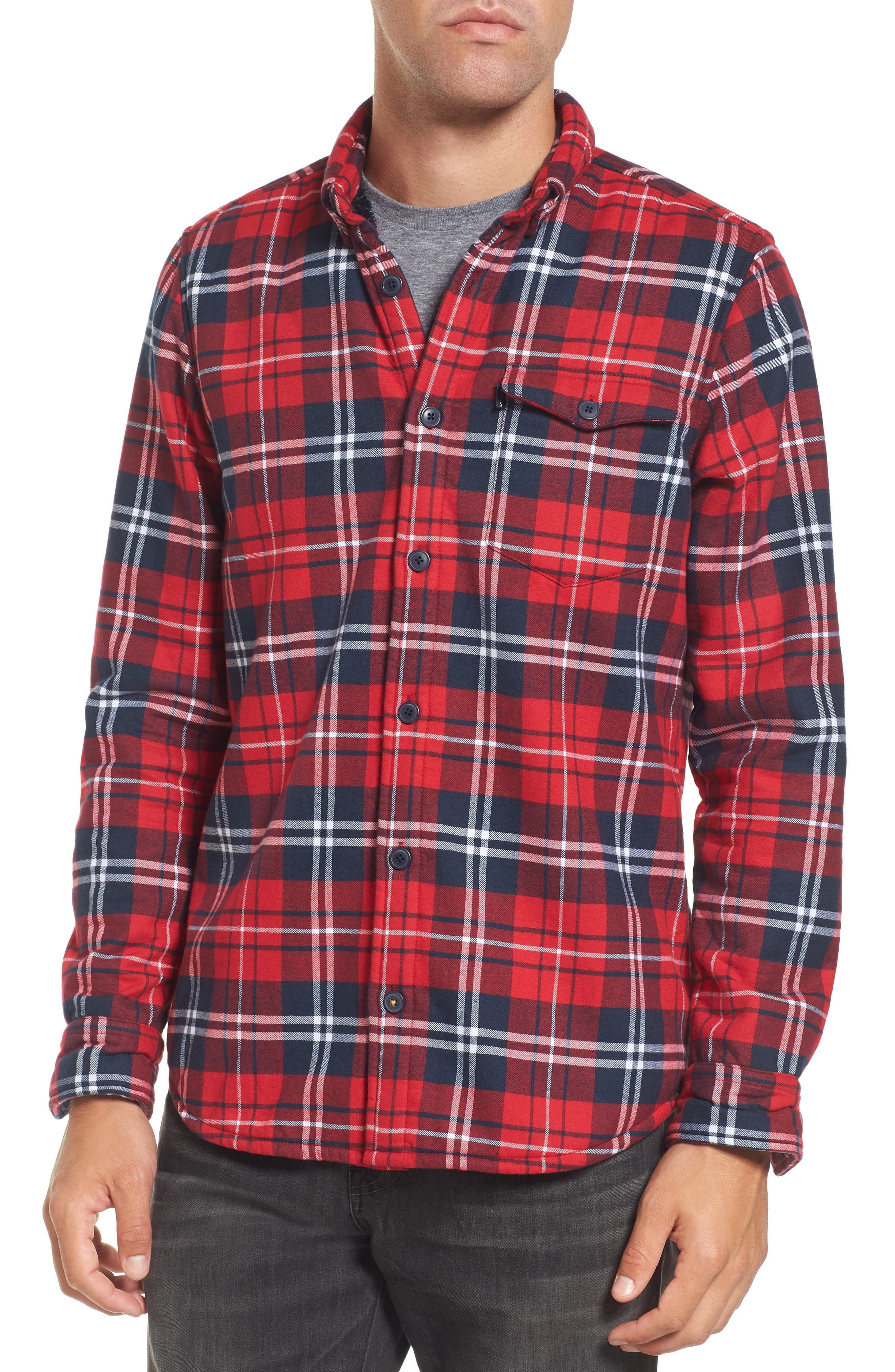 Alternate Image 4  - Barbour Hamilton Regular Fit Faux Fur Lined Shirt Jacket