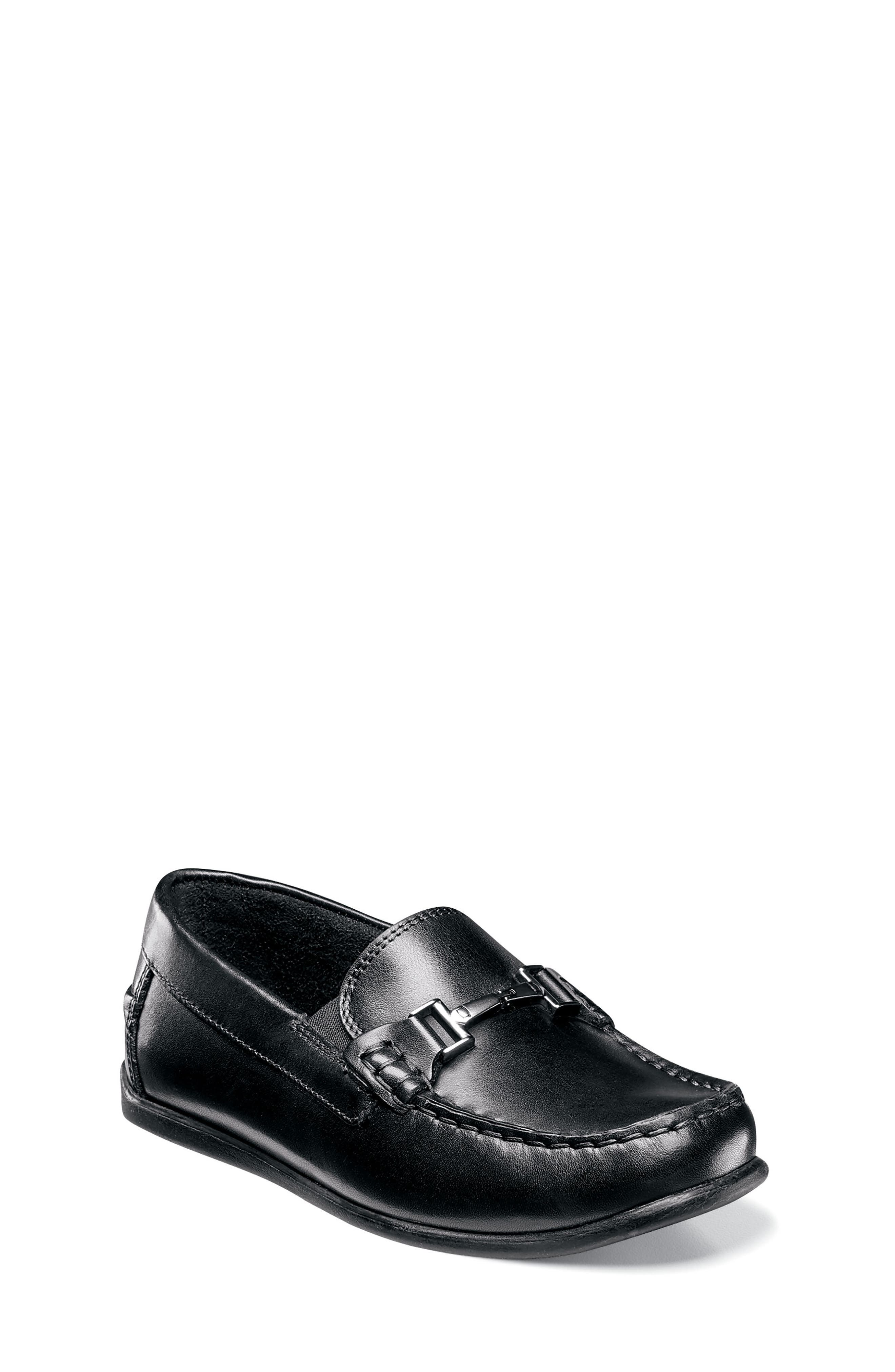 Alternate Image 1 Selected - Florsheim Jasper Bit Jr Loafer (Toddler, Little Kid & Big Kid)