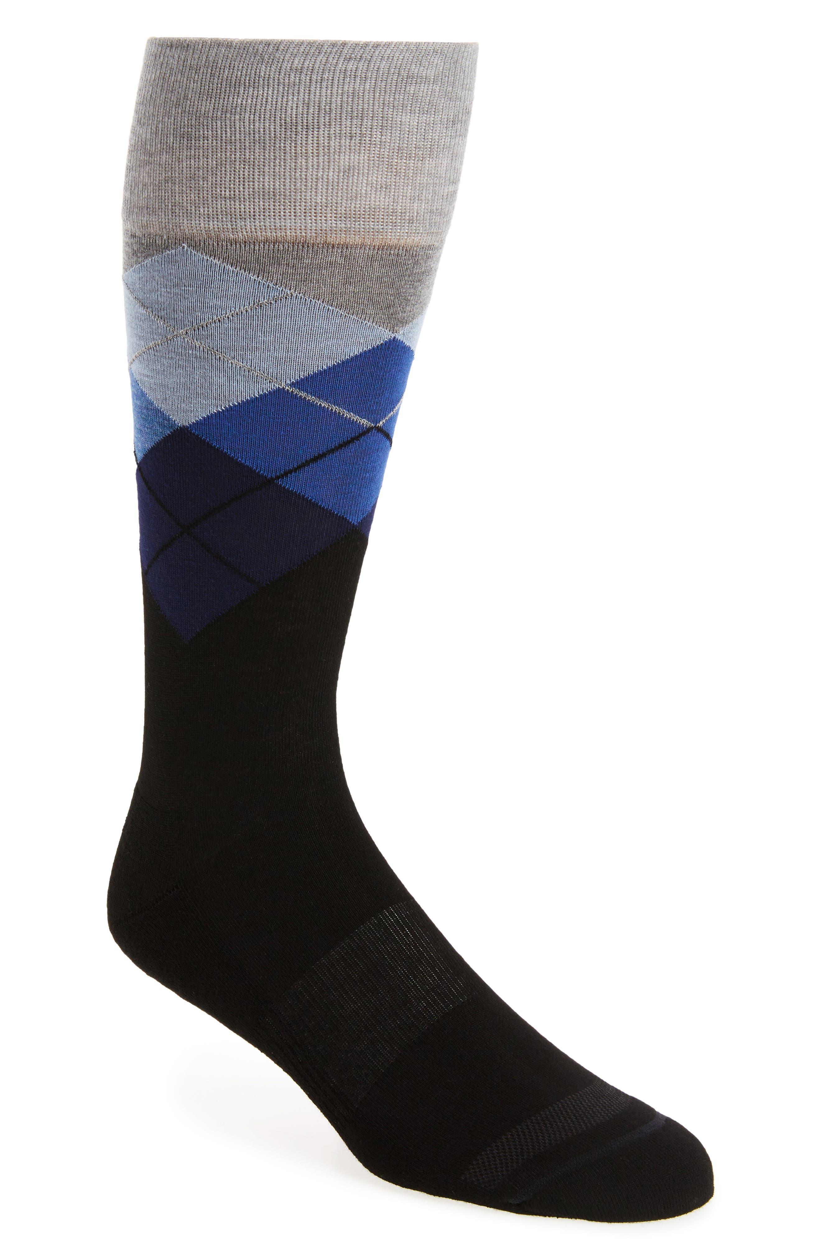 Alternate Image 1 Selected - Nordstrom Men's Shop Argyle Socks