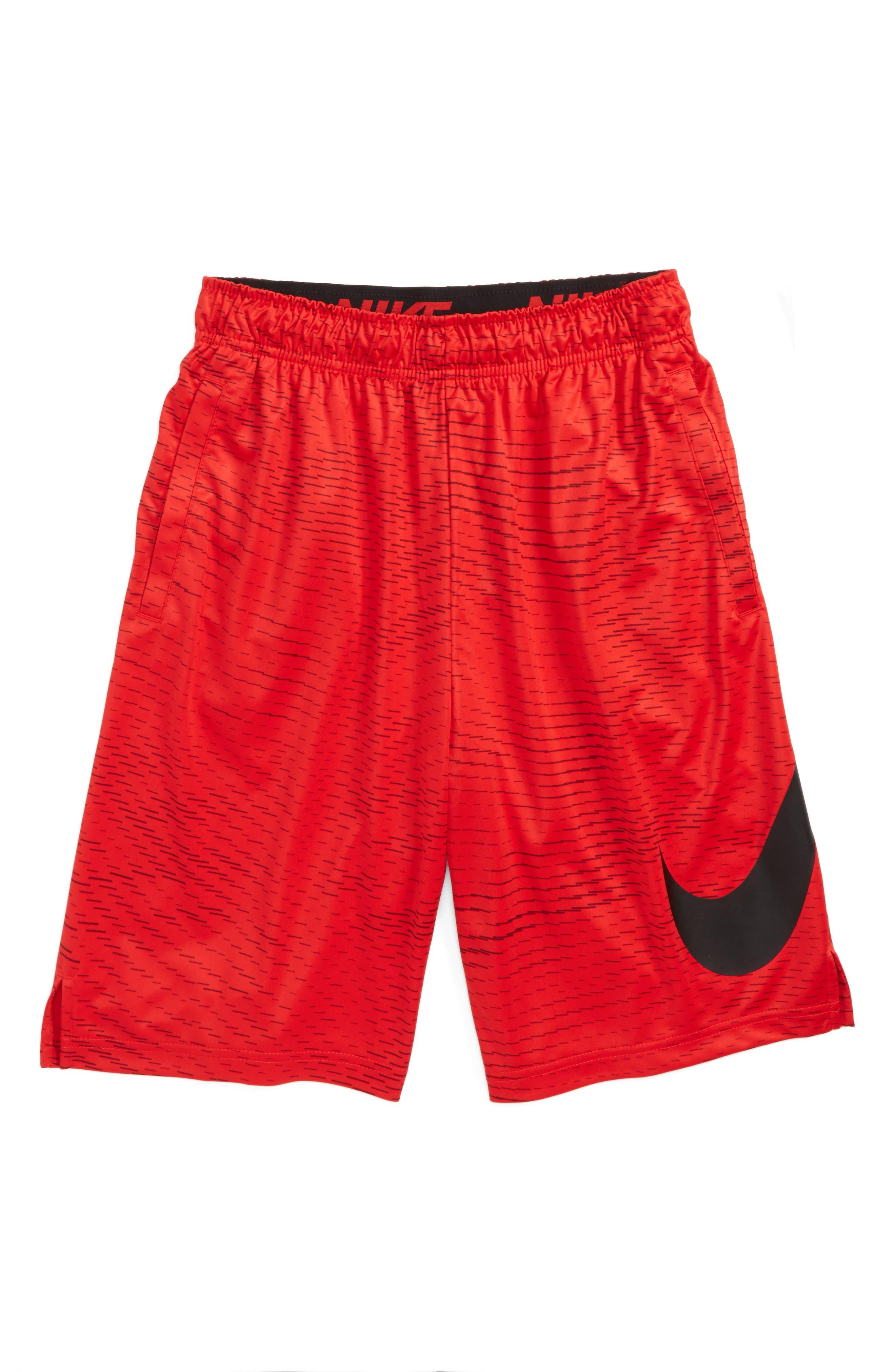 Alternate Image 1 Selected - Nike AOP Dry Shorts (Little Boys & Big Boys)