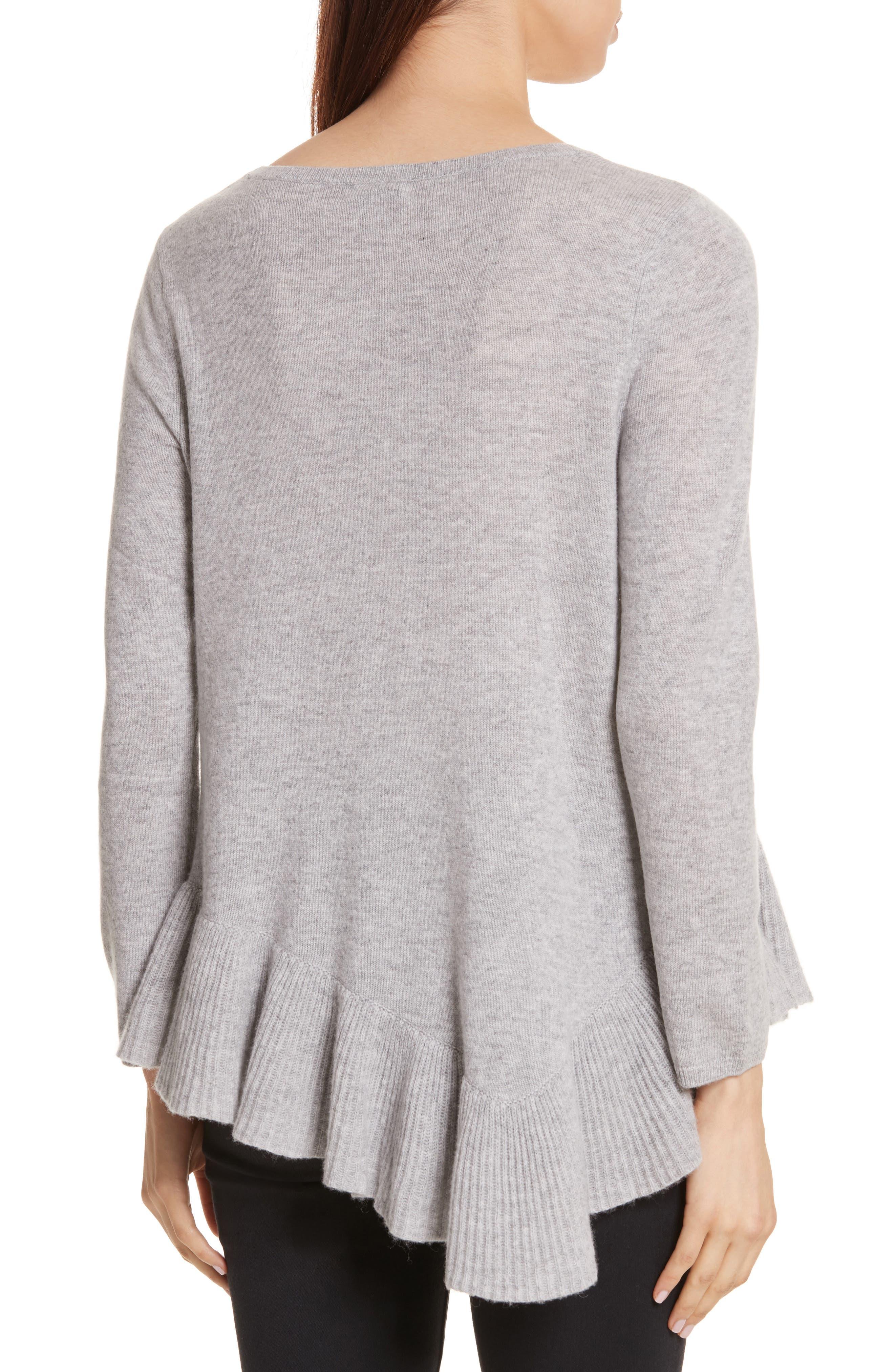 Alternate Image 2  - Joie Tambrel N Wool & Cashmere Asymmetrical Sweater Tunic