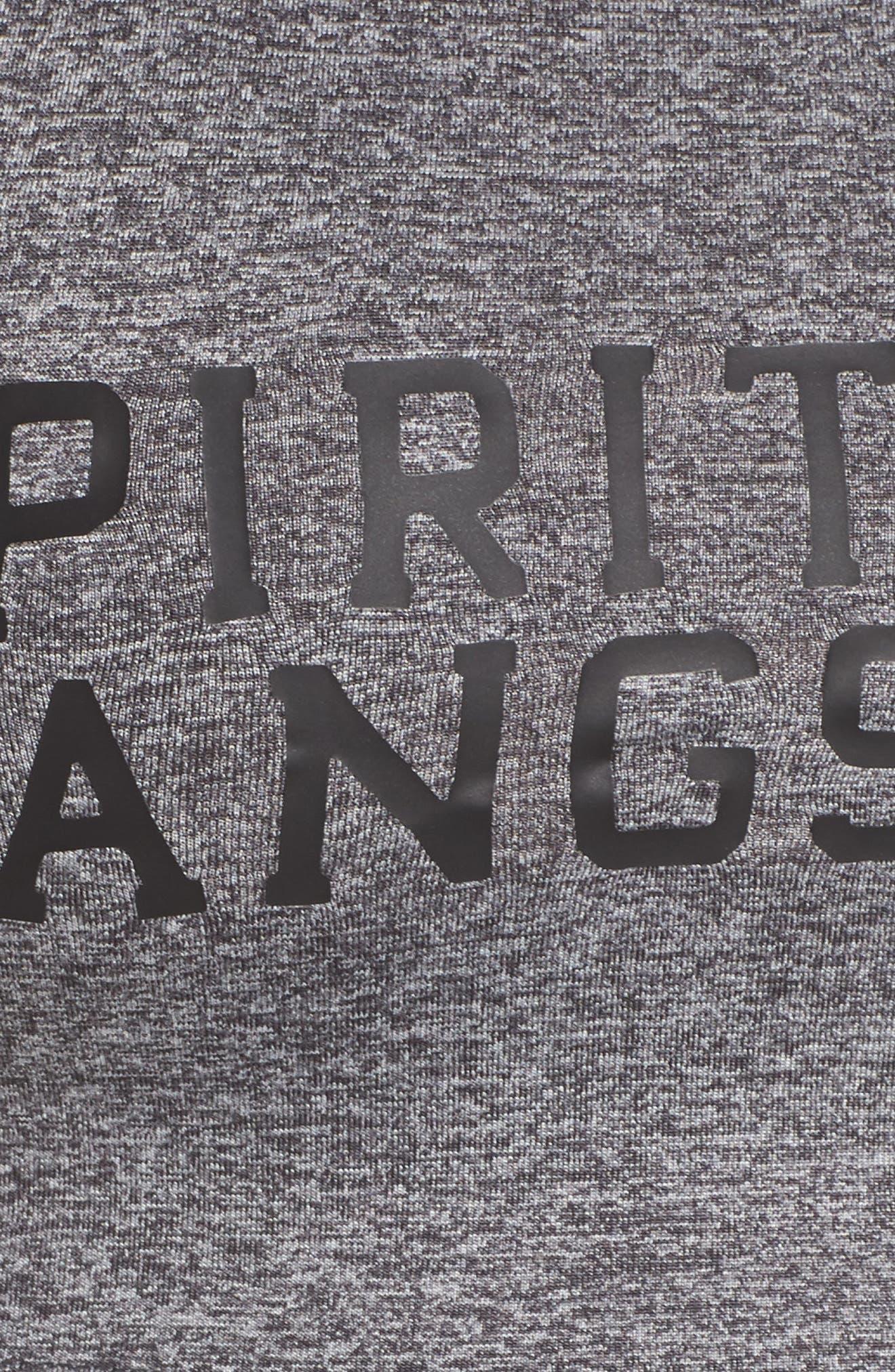 Alternate Image 5  - Spiritual Gangster Varsity Crop Top