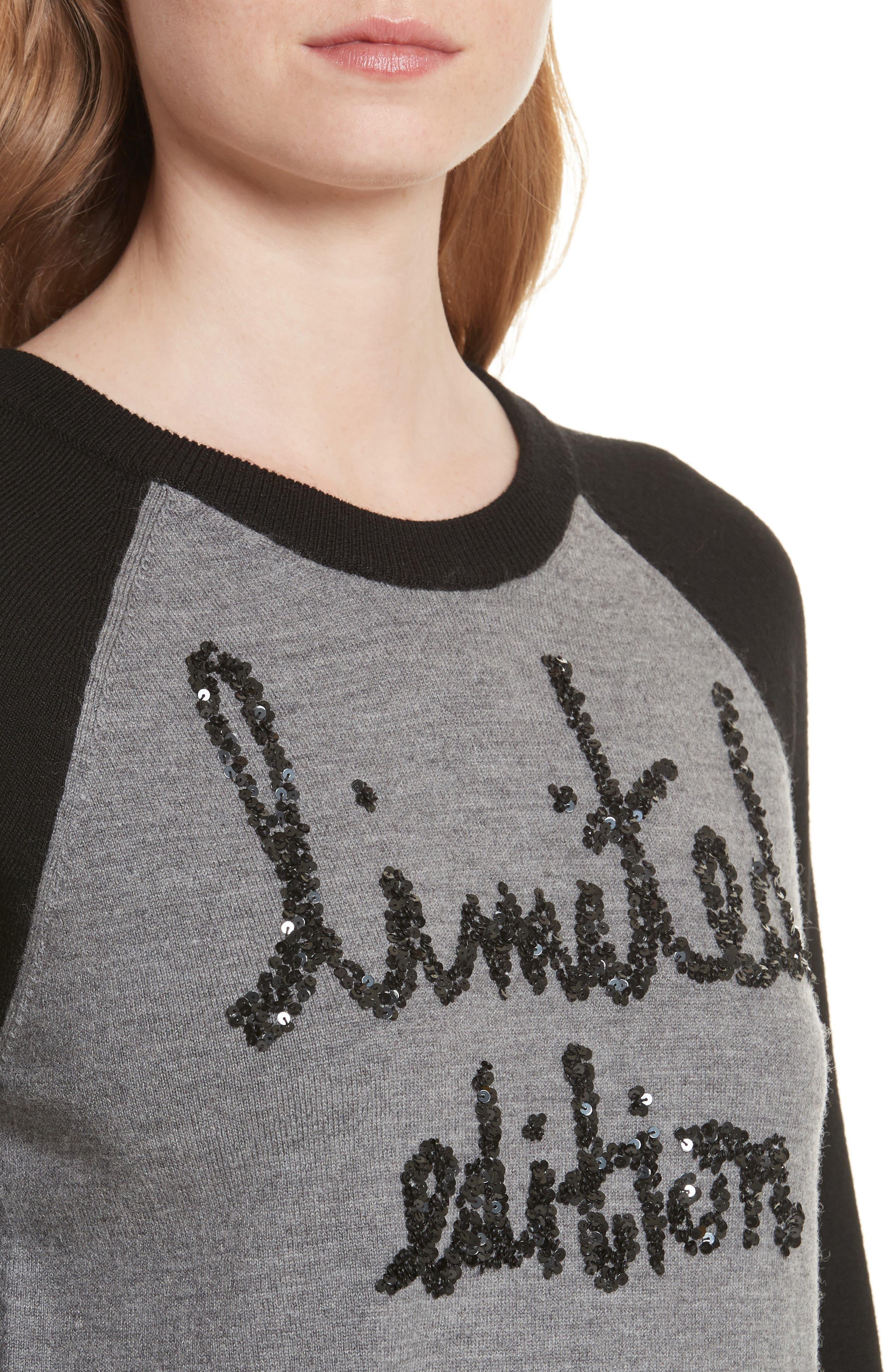 Alternate Image 4  - Alice + Olivia Gretta Limited Edition Pullover