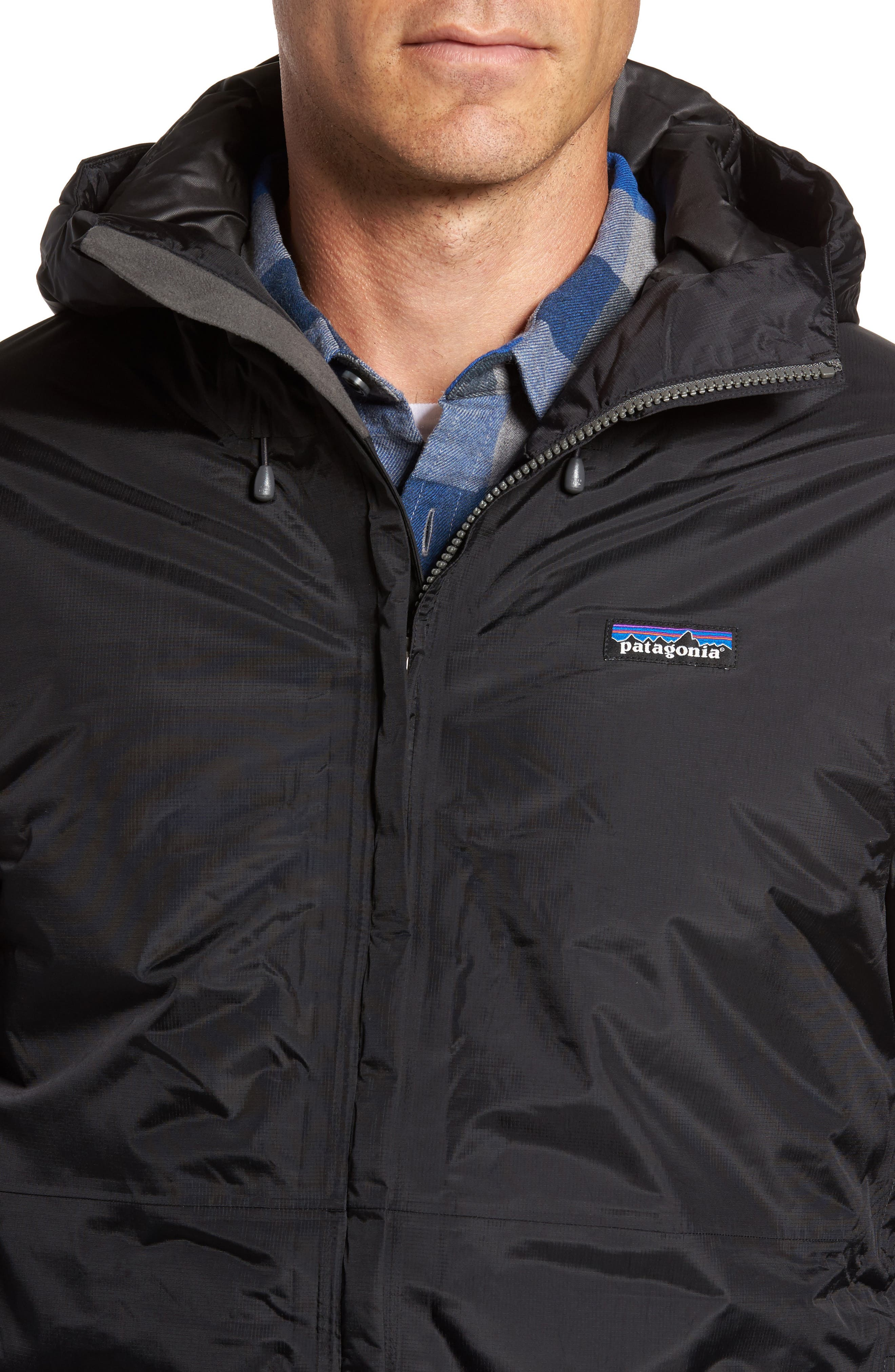 Torrentshell H2No<sup>®</sup> Packable Insulated Rain Jacket,                             Alternate thumbnail 4, color,                             Black