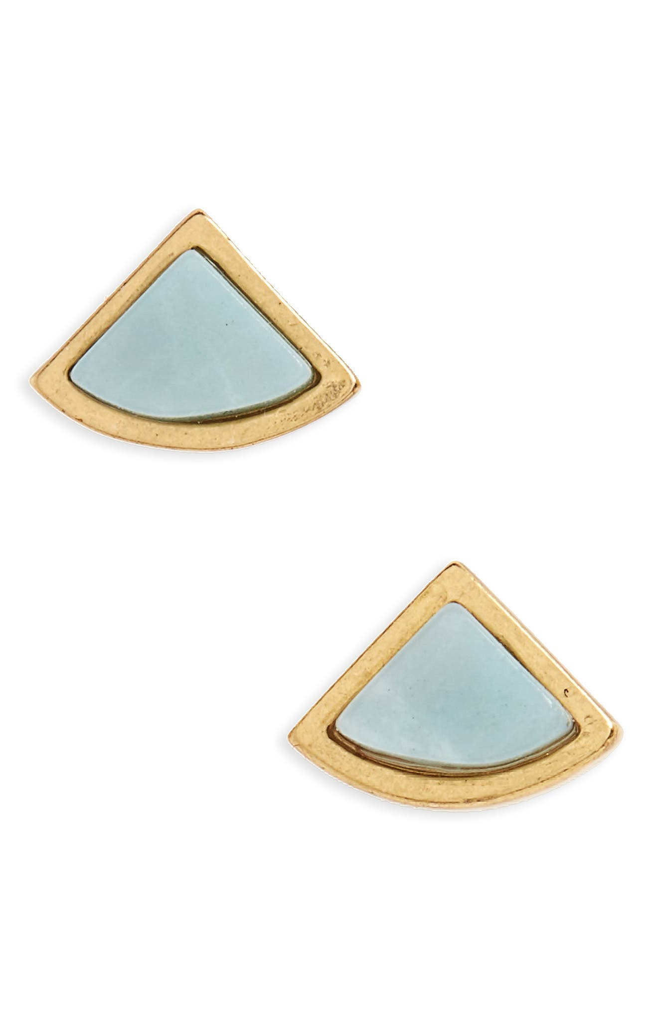 Madewell Fan Stud Earrings