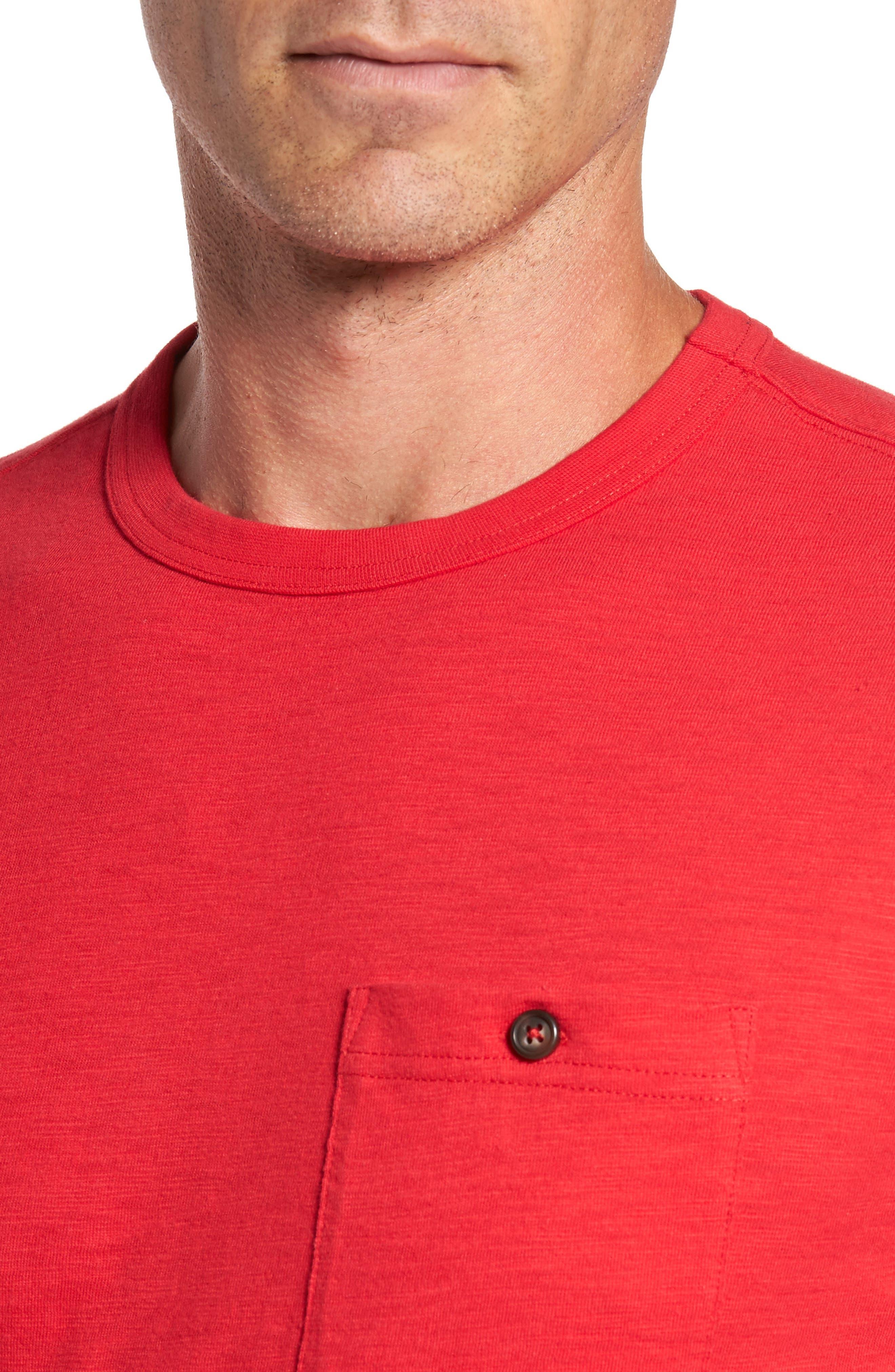 Alternate Image 4  - Southern Tide Montford Slub Pocket T-Shirt