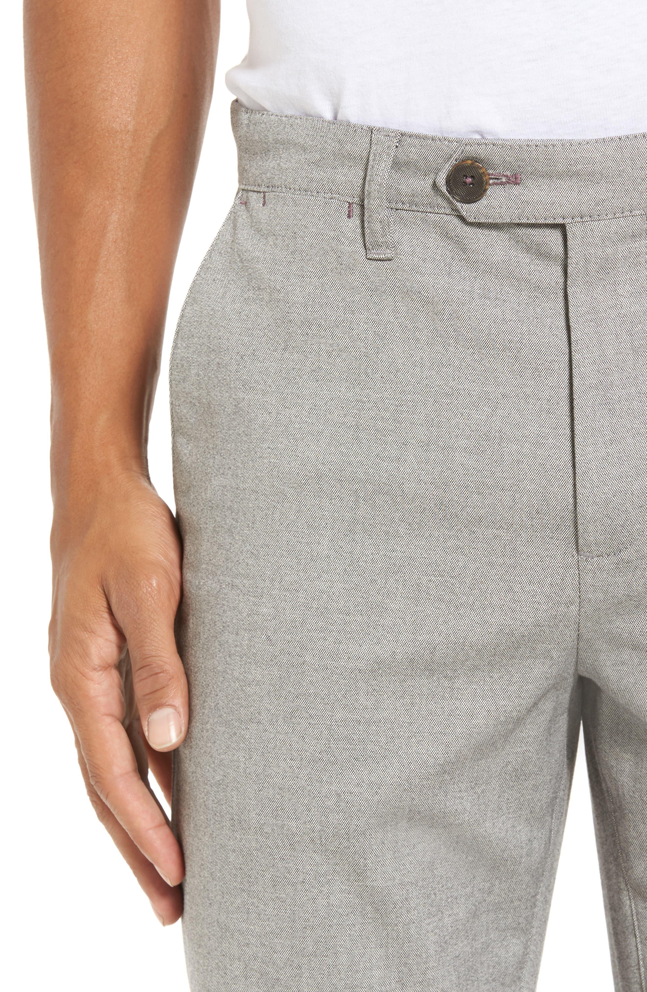 Alternate Image 4  - Ted Baker London Modern Slim Fit Trousers (Tall)