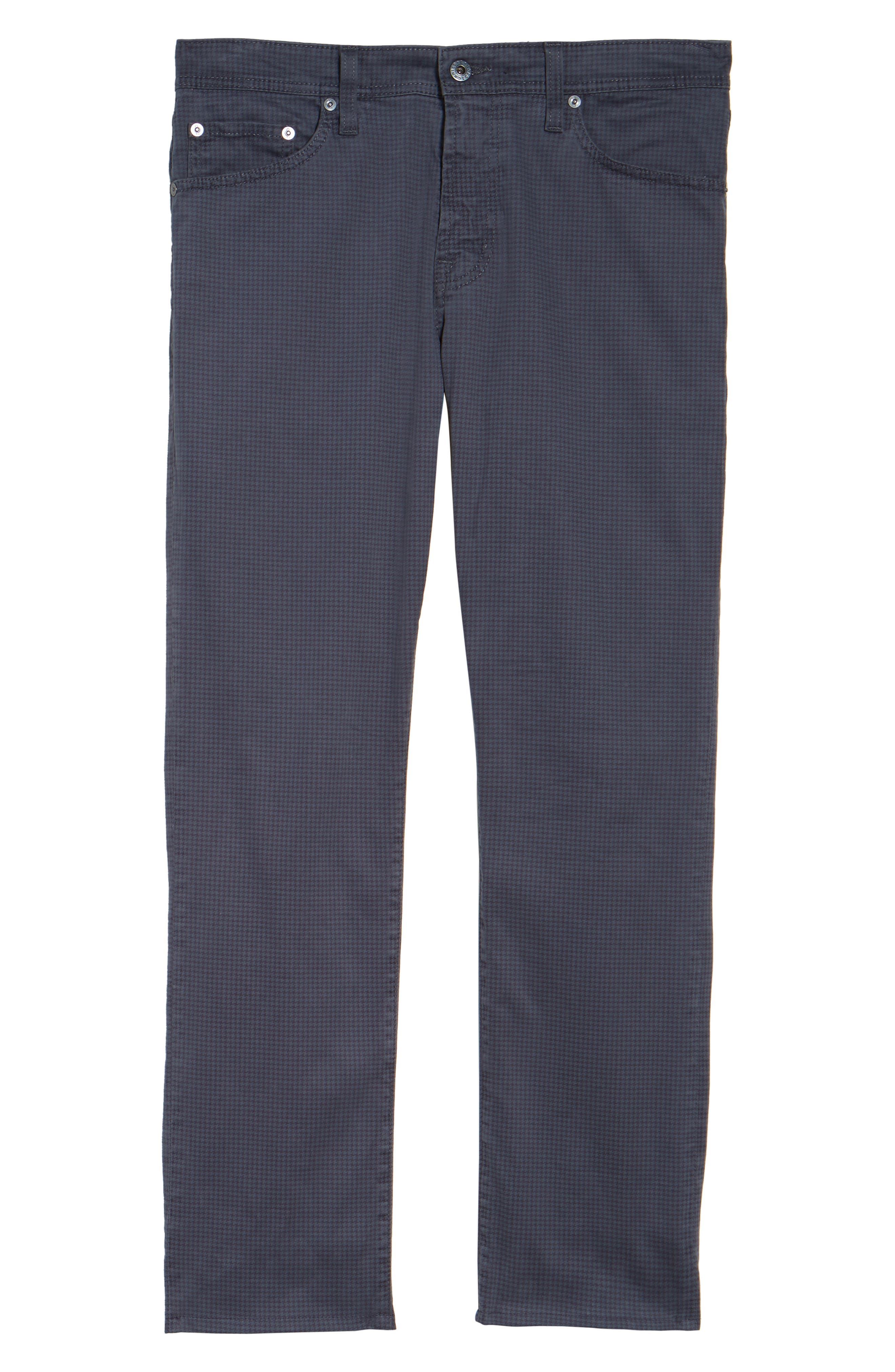Alternate Image 5  - AG Houndstooth Everett SUD Straight Leg Pants