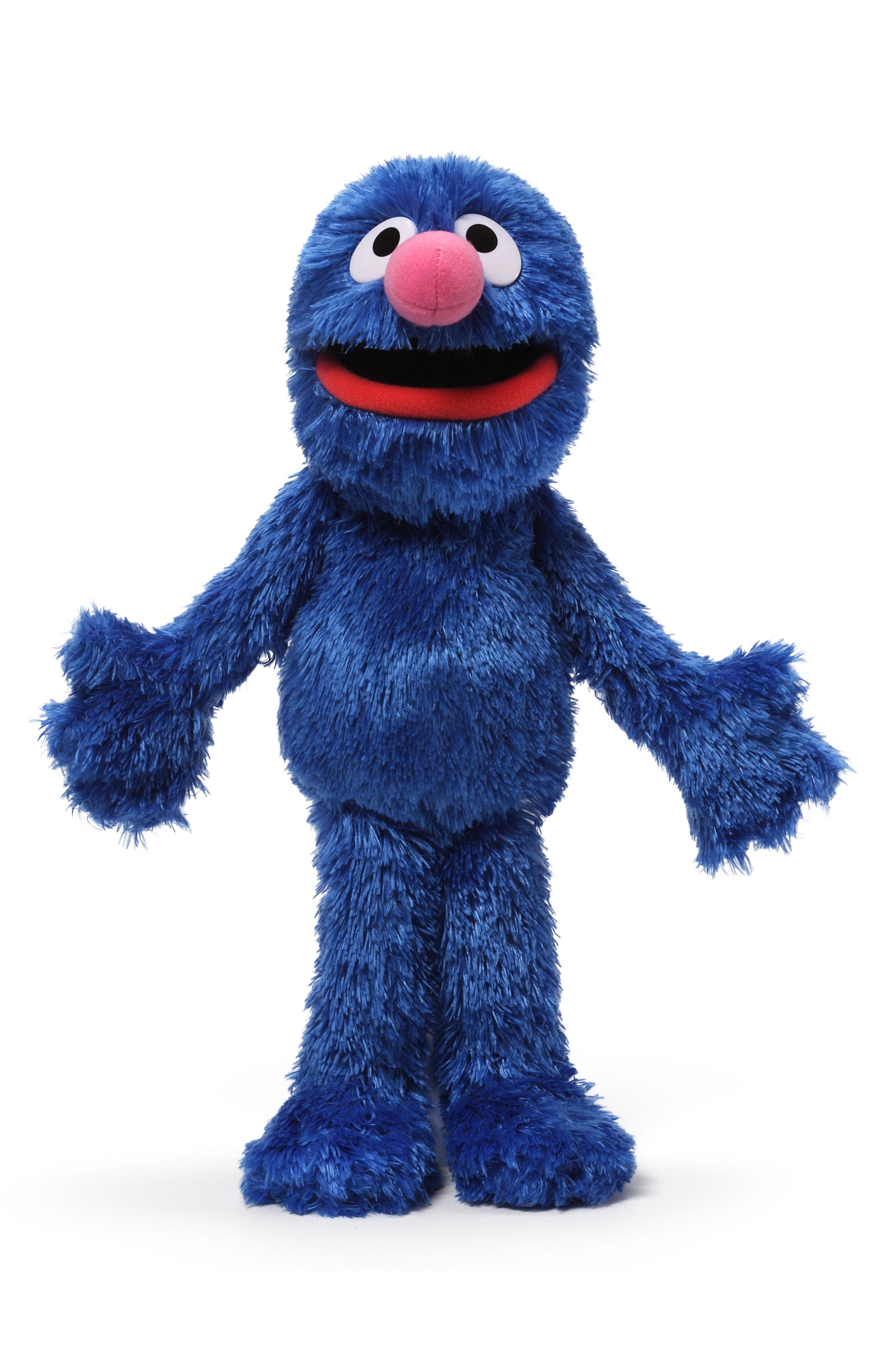 'Grover' Stuffed Toy,                         Main,                         color, Blue