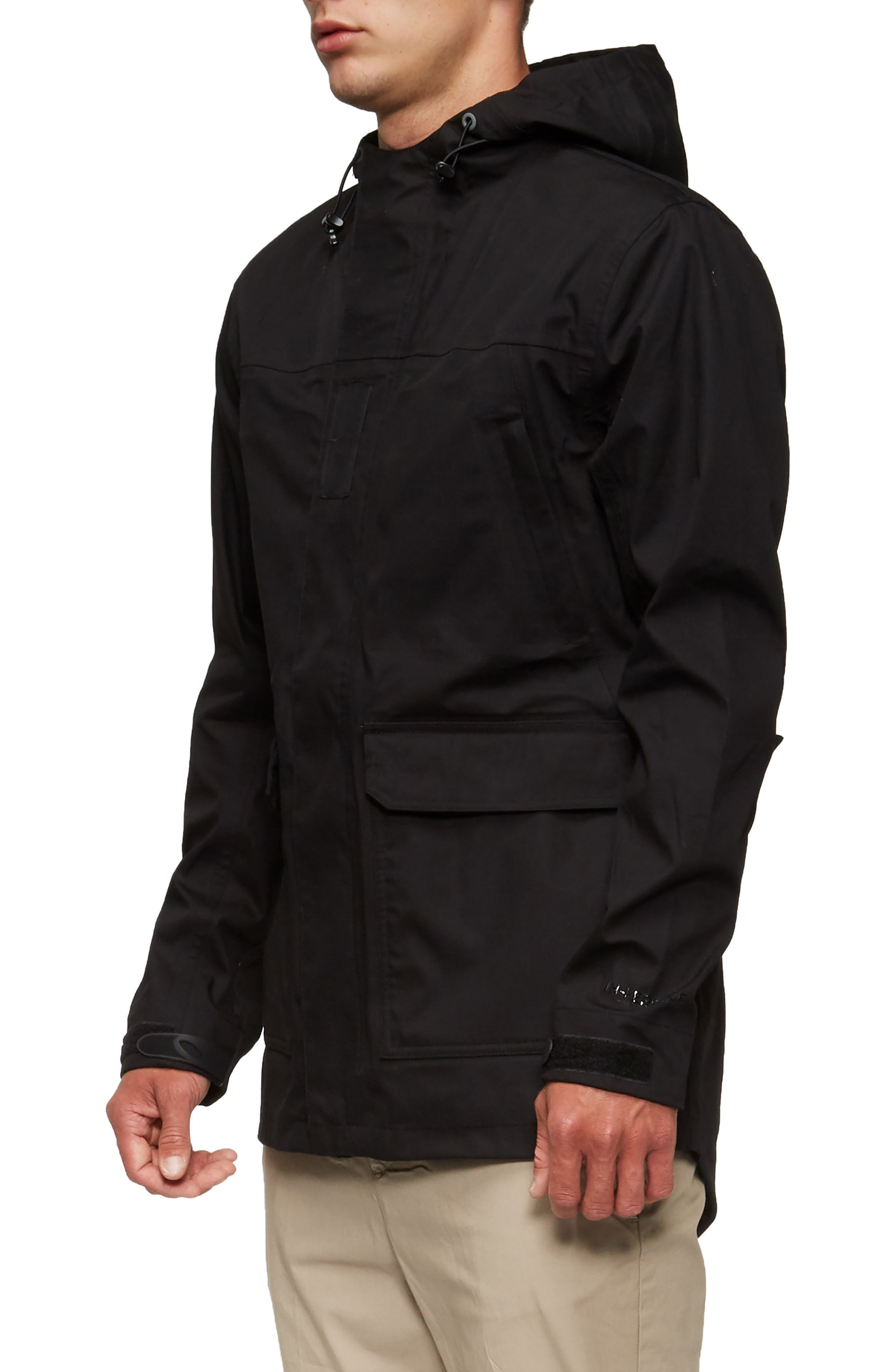 Ridley Parka,                             Alternate thumbnail 3, color,                             Black