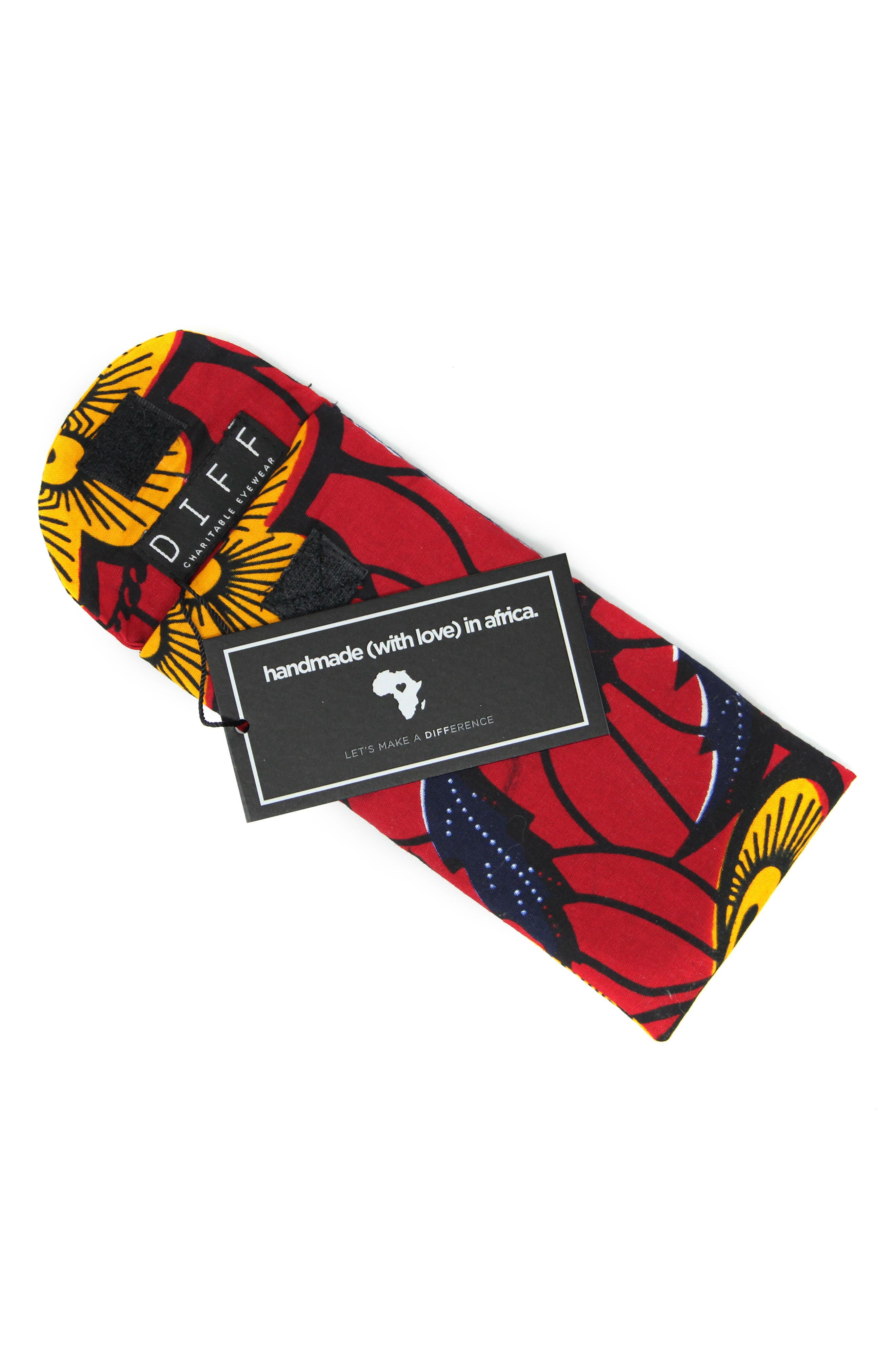DIFF African Kitenge Sunglasses Pouch