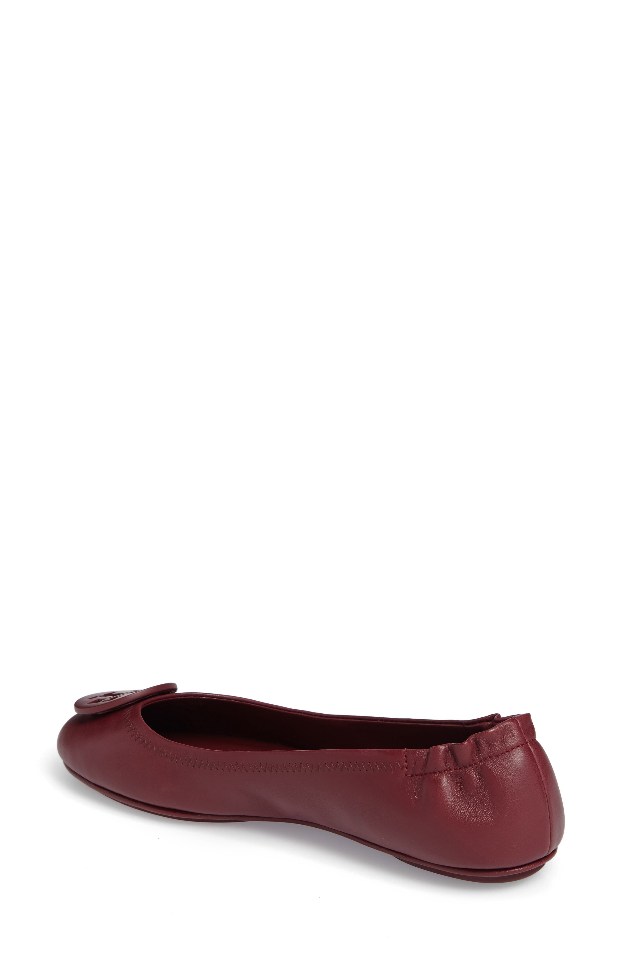 Alternate Image 2  - Tory Burch 'Minnie' Travel Ballet Flat (Women)