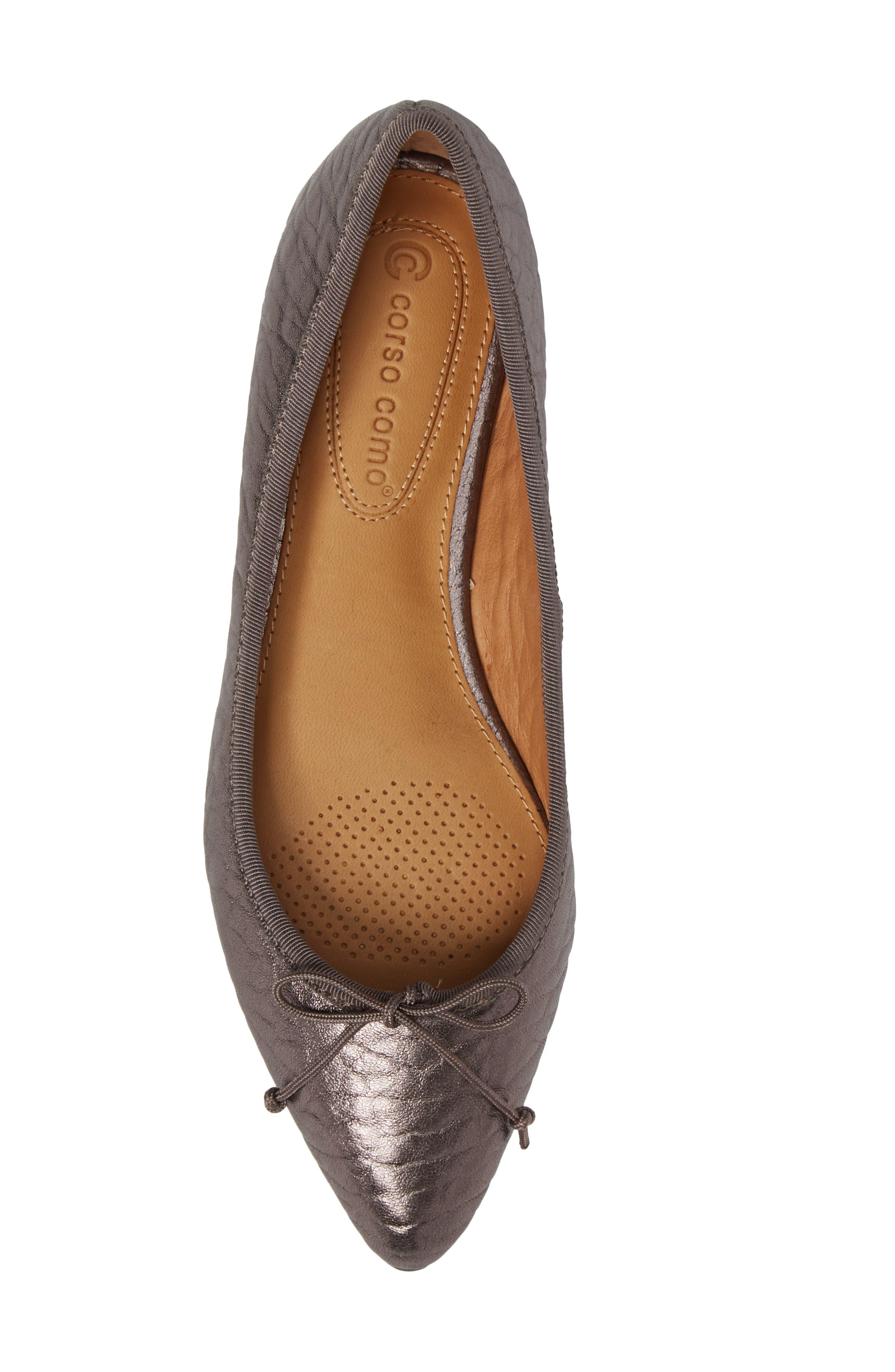 Alternate Image 5  - Corso Como 'Recital' Pointy Toe Flat (Women)
