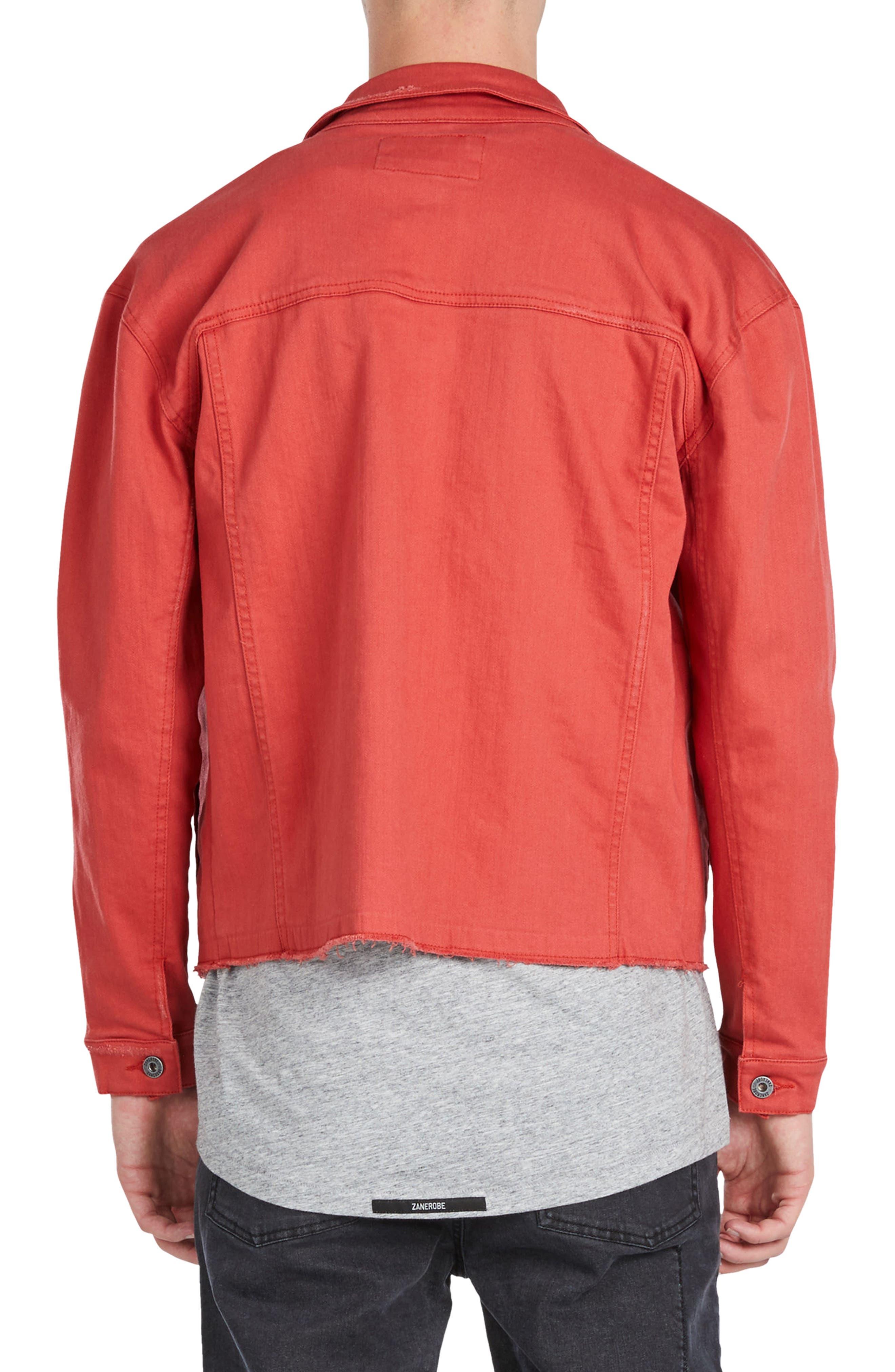 Alternate Image 2  - ZANEROBE Snitch Denim Jacket