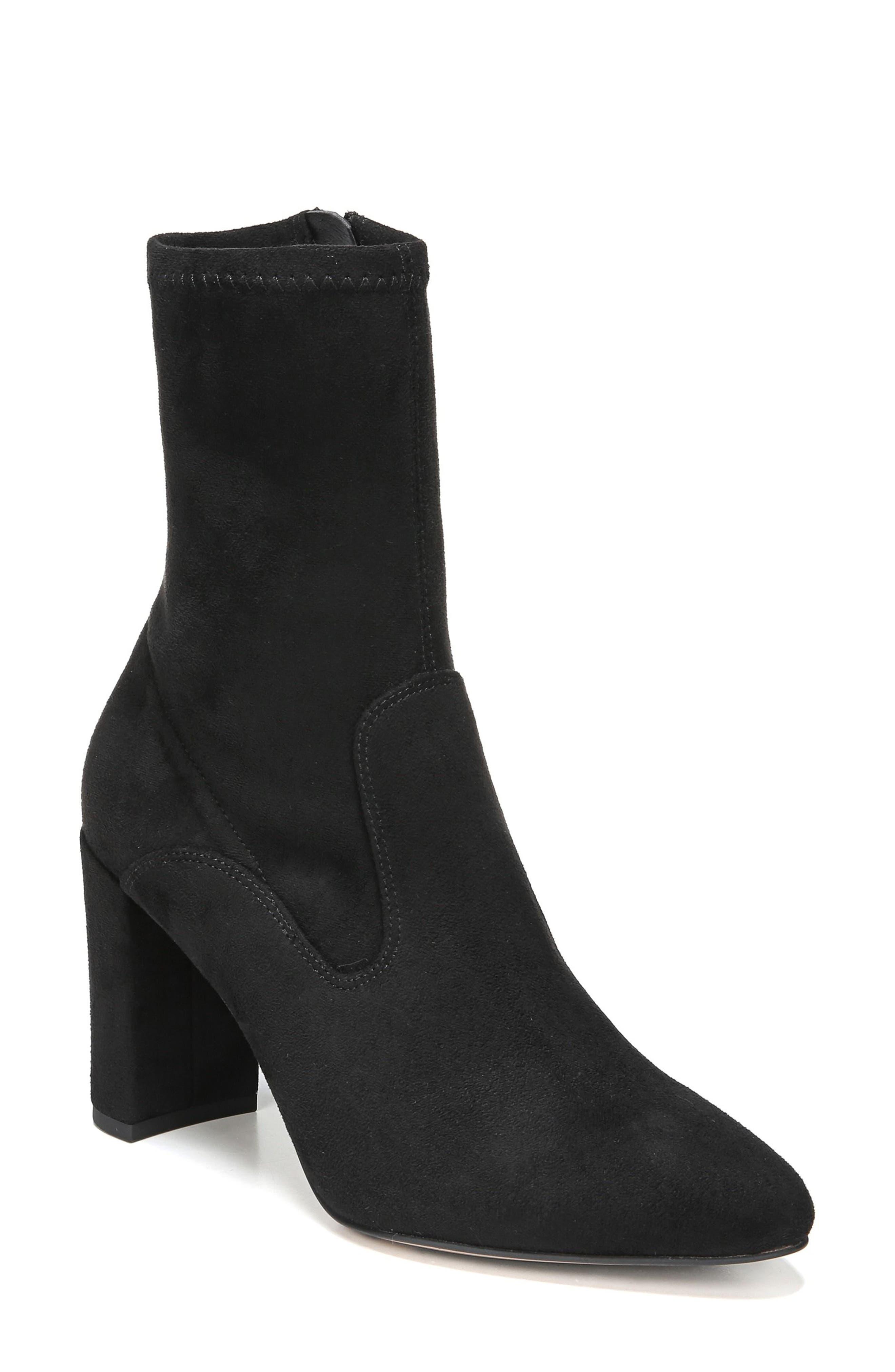 Fancy Boot,                         Main,                         color, Black Suede