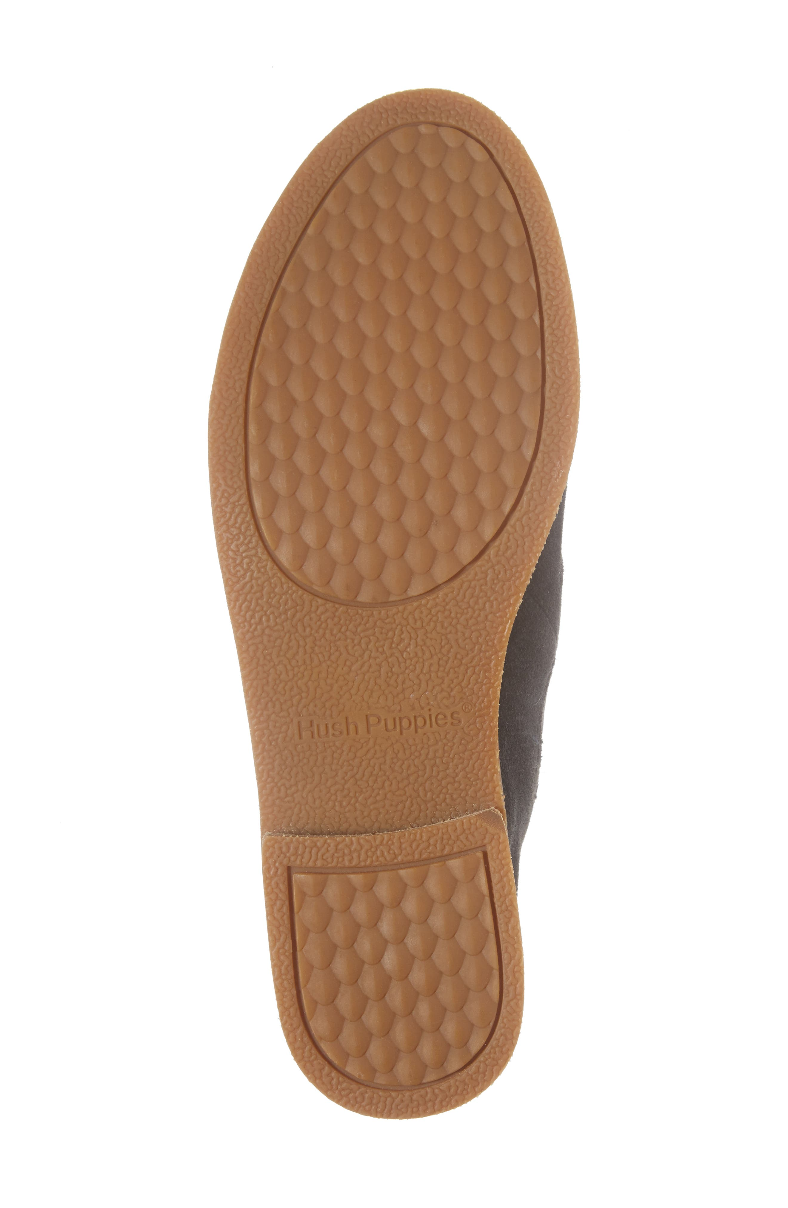 Analise Clever Flat,                             Alternate thumbnail 6, color,                             Granite Gray Suede