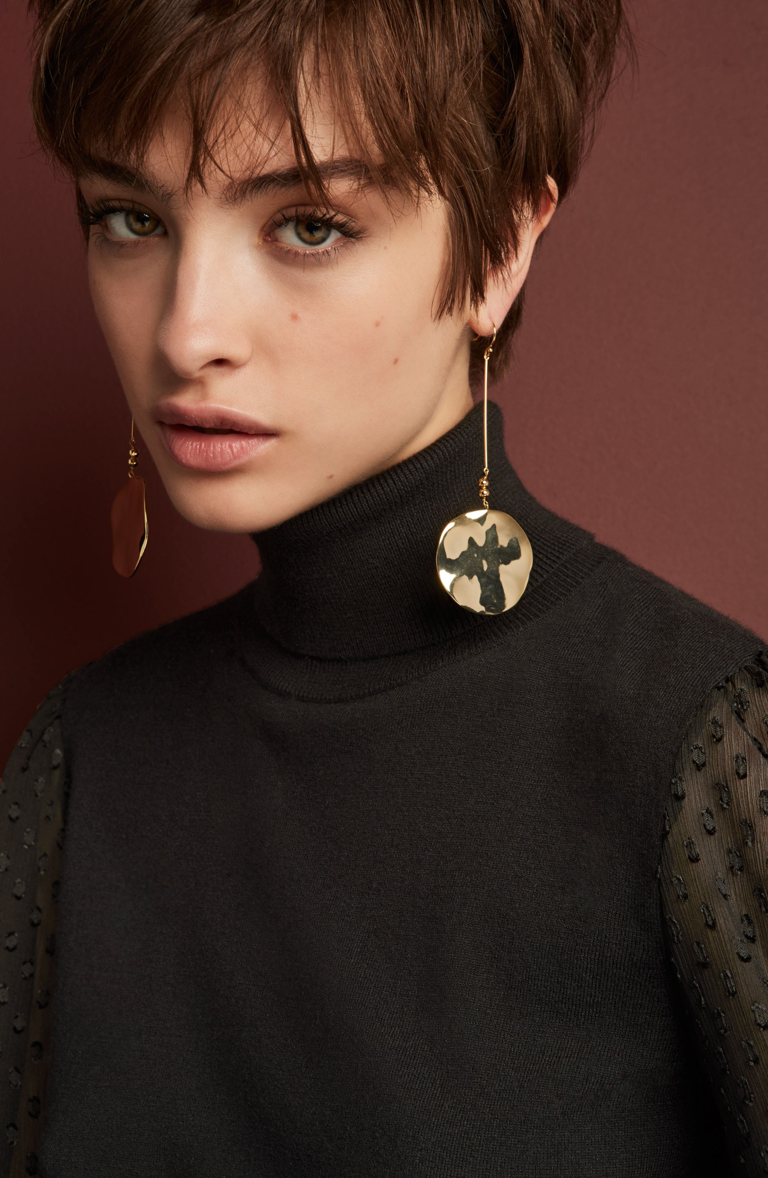 Chloe Drop Earrings,                             Alternate thumbnail 3, color,