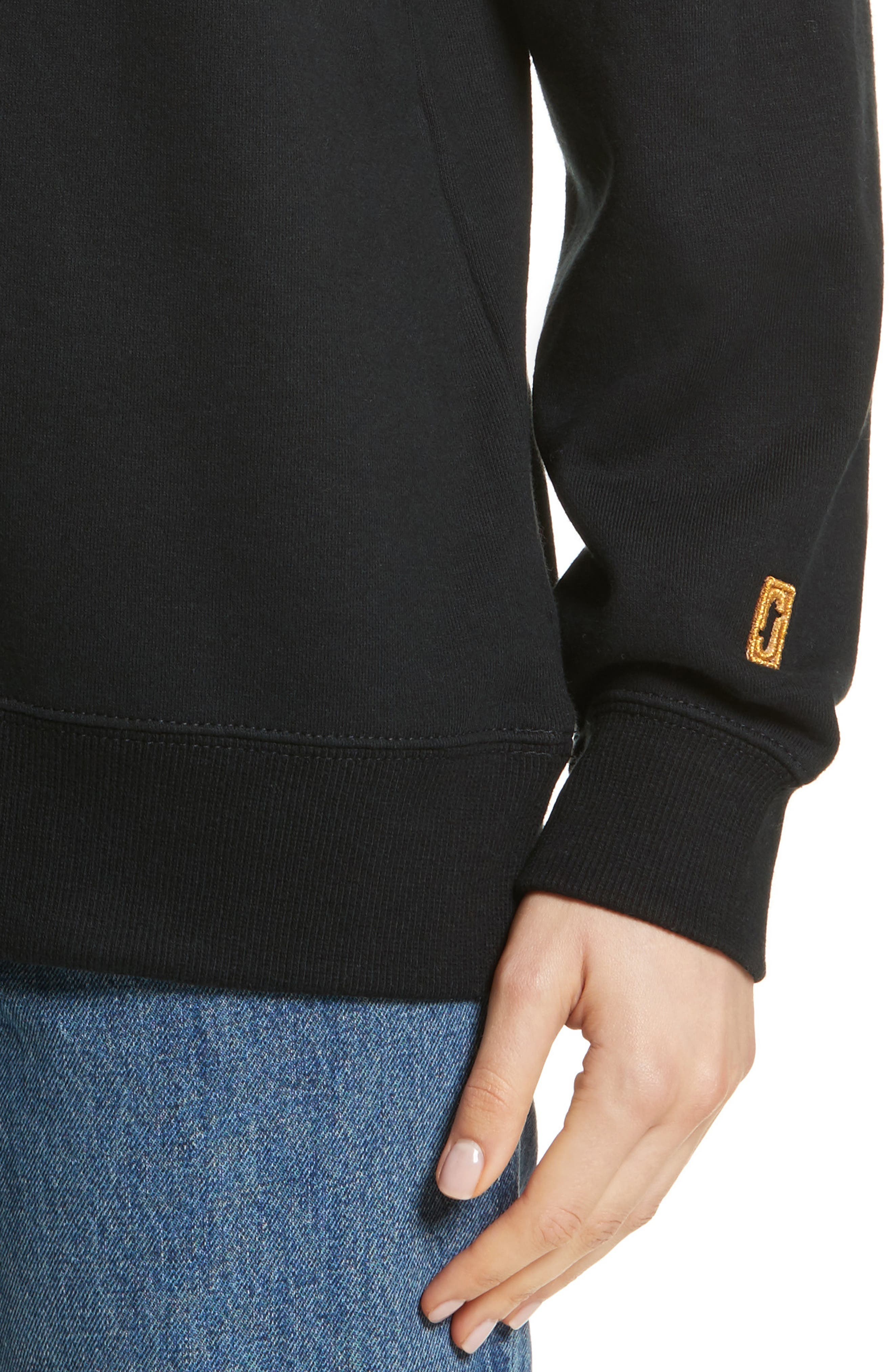 Alternate Image 4  - MARC JACOBS Embroidered Logo Sweatshirt