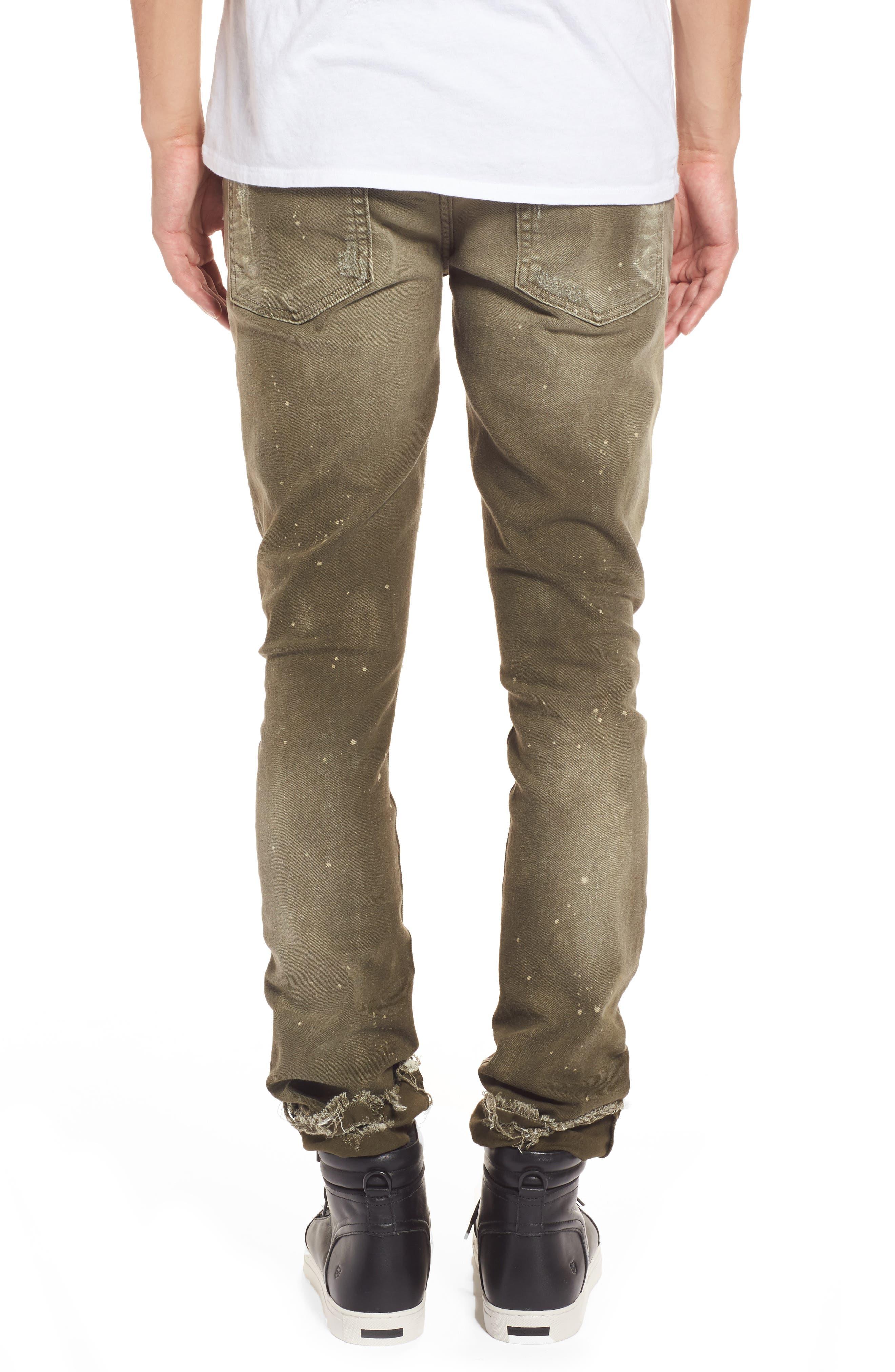 Demon Slim Straight Leg Jeans,                             Alternate thumbnail 2, color,                             Light
