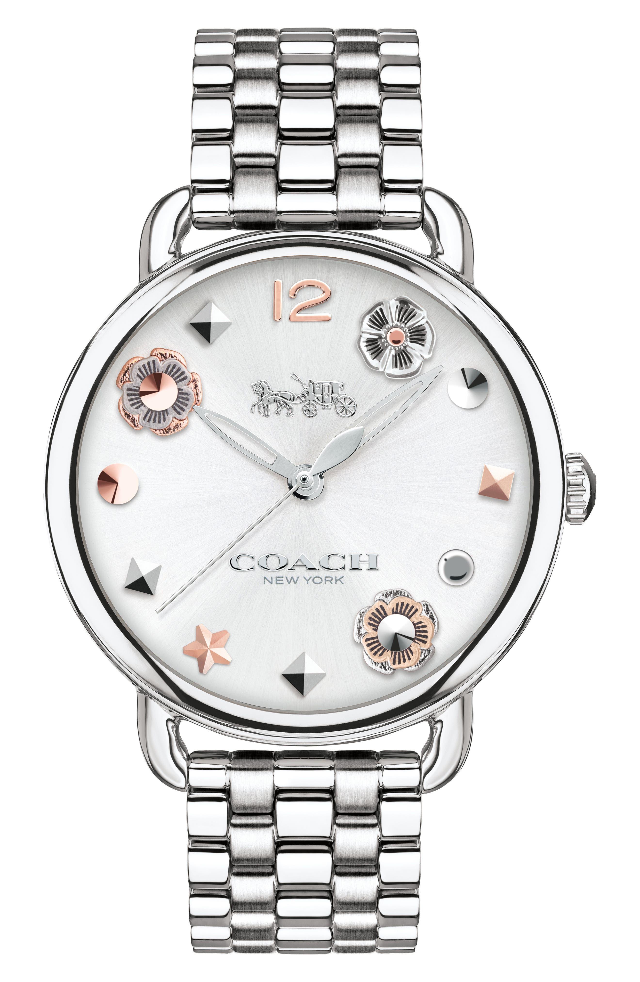 Delancey Bracelet Watch, 36mm,                         Main,                         color, Silver