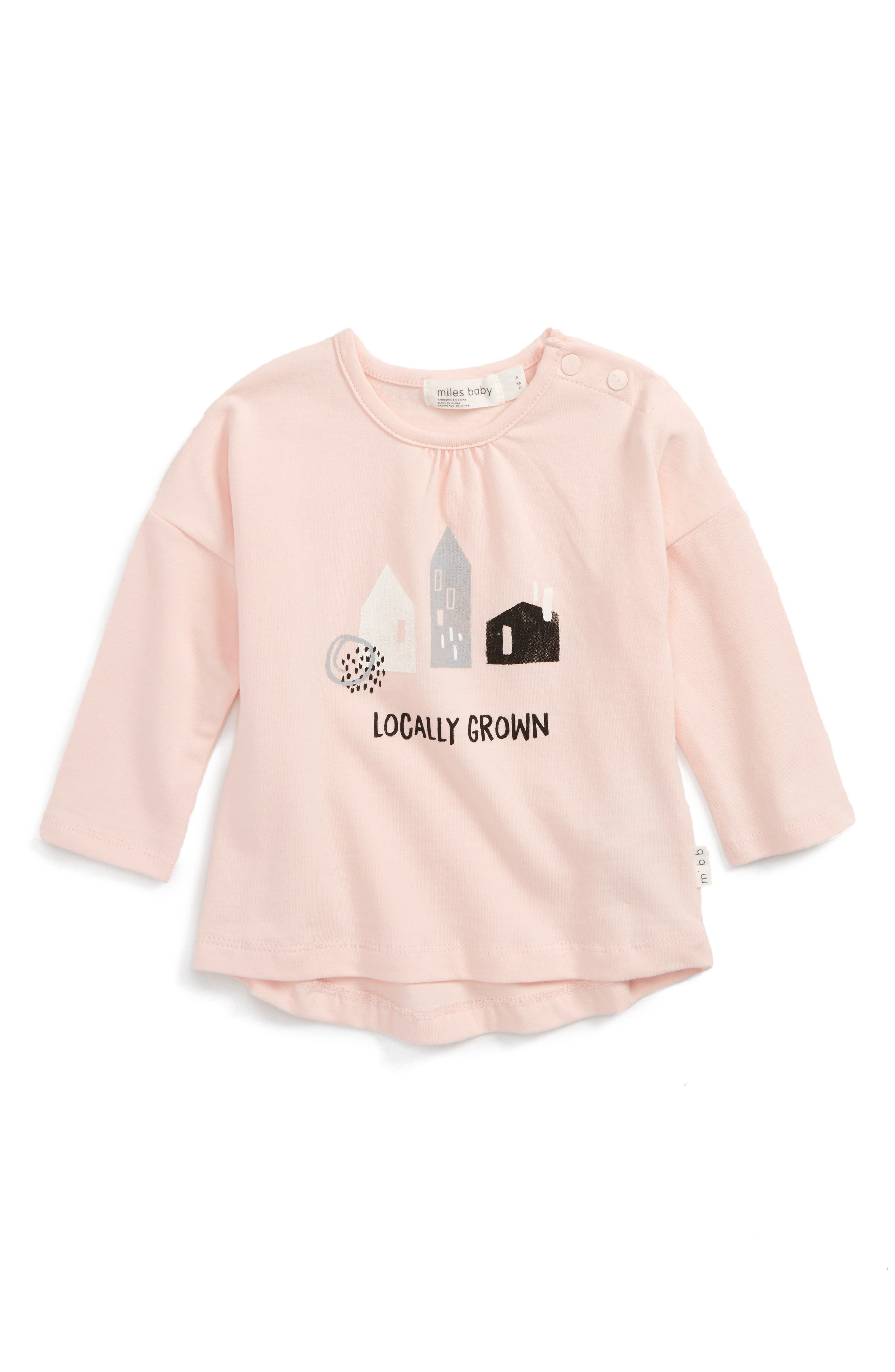 Miles Baby Locally Grown Tee (Baby Girls)