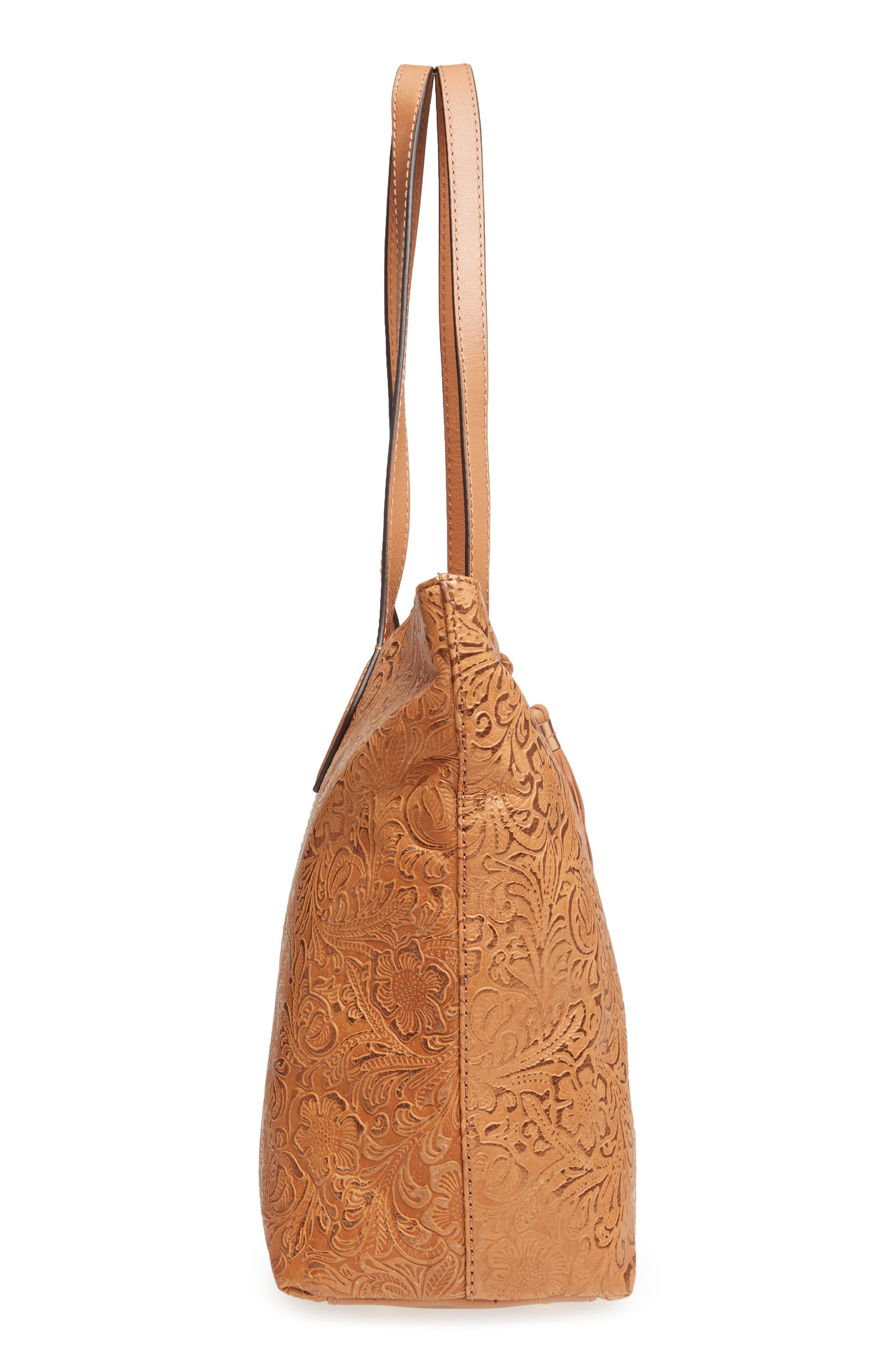 Alternate Image 4  - Tommy Bahama Barbados Leather Tote
