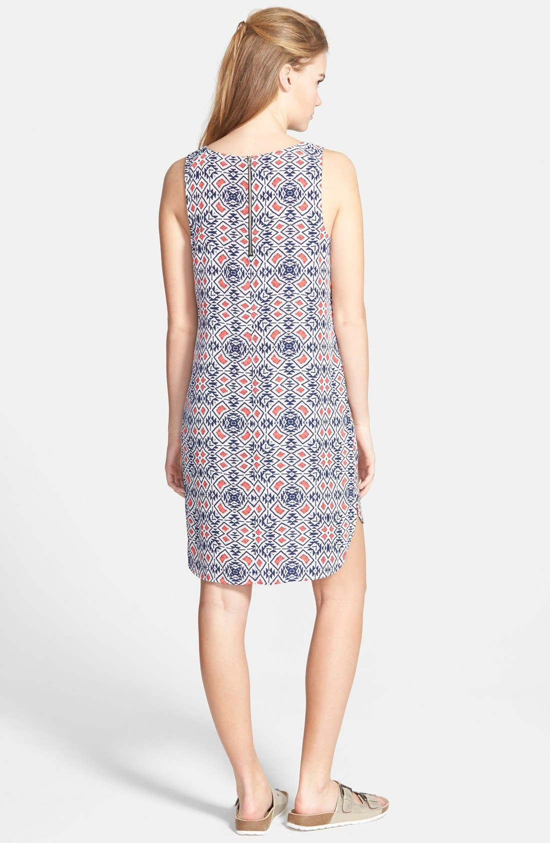 Alternate Image 2  - Socialite Print Shift Dress