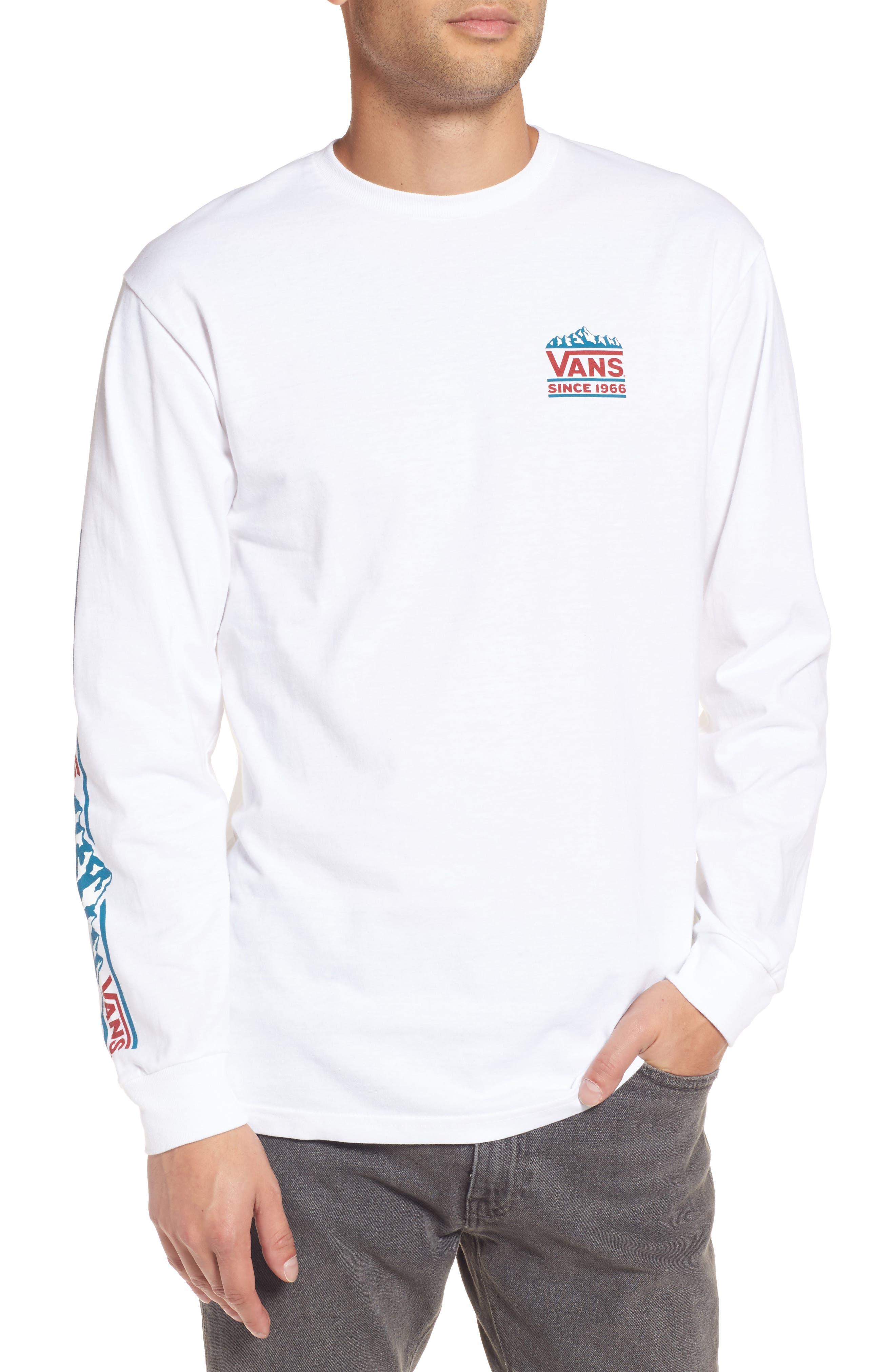 Cliffs T-Shirt,                         Main,                         color, White