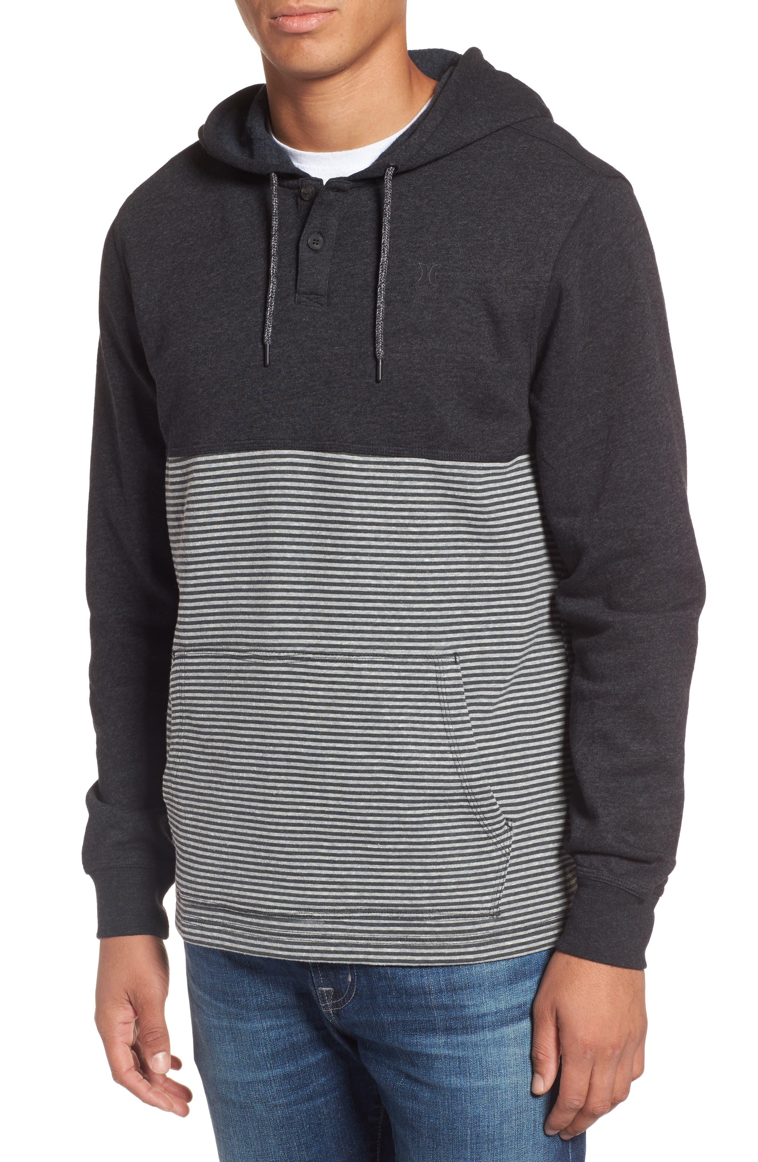 Bayside Pullover Hoodie,                         Main,                         color, Black