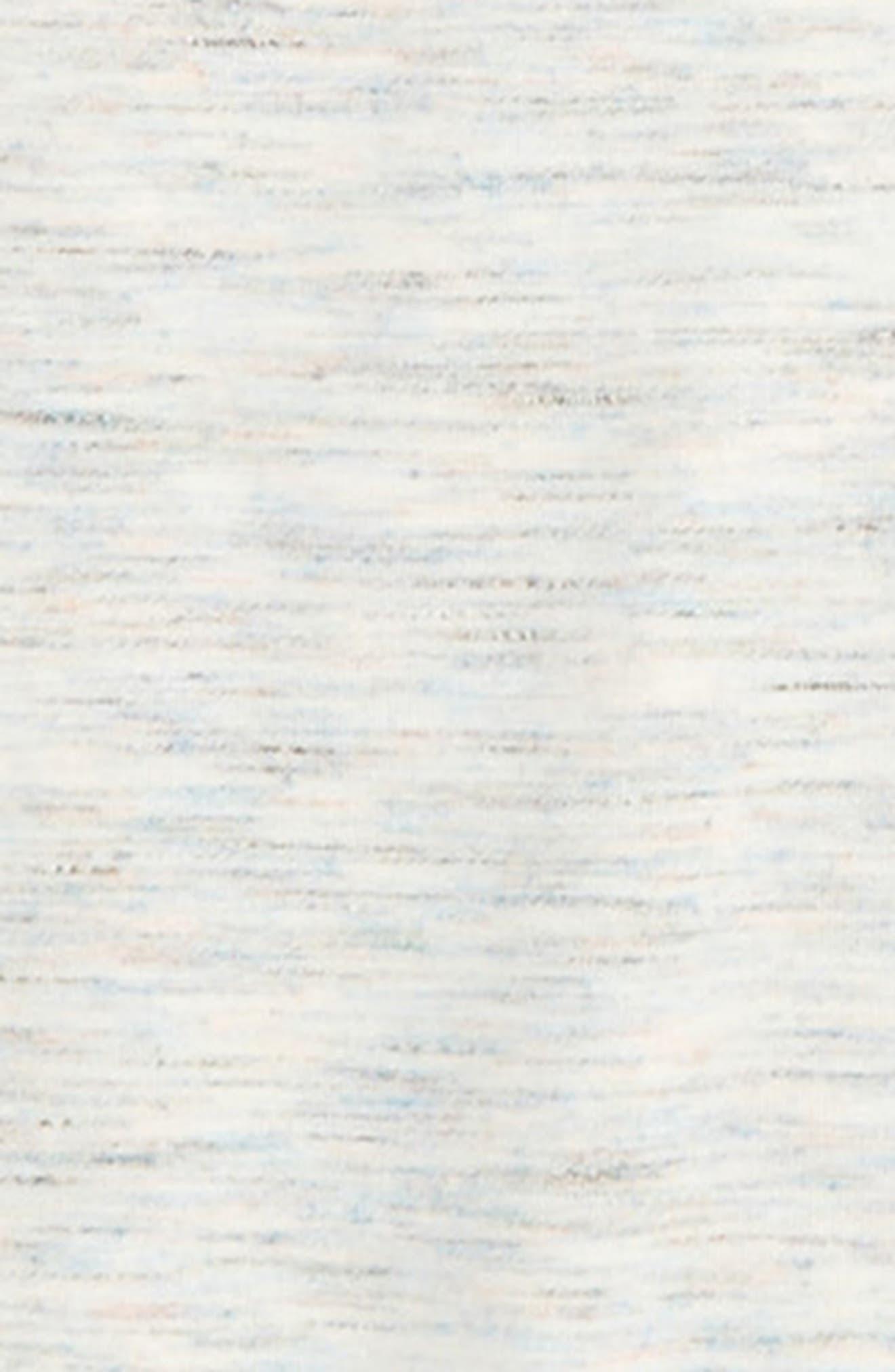 Space Dye Tunic,                             Alternate thumbnail 3, color,                             Ivory Egret Multi