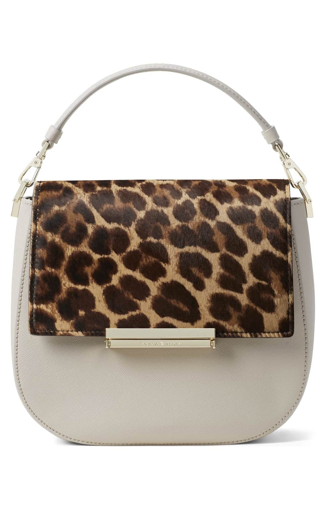 Alternate Image 2  - kate spade new york make it mine genuine calf hair snap-on accent flap
