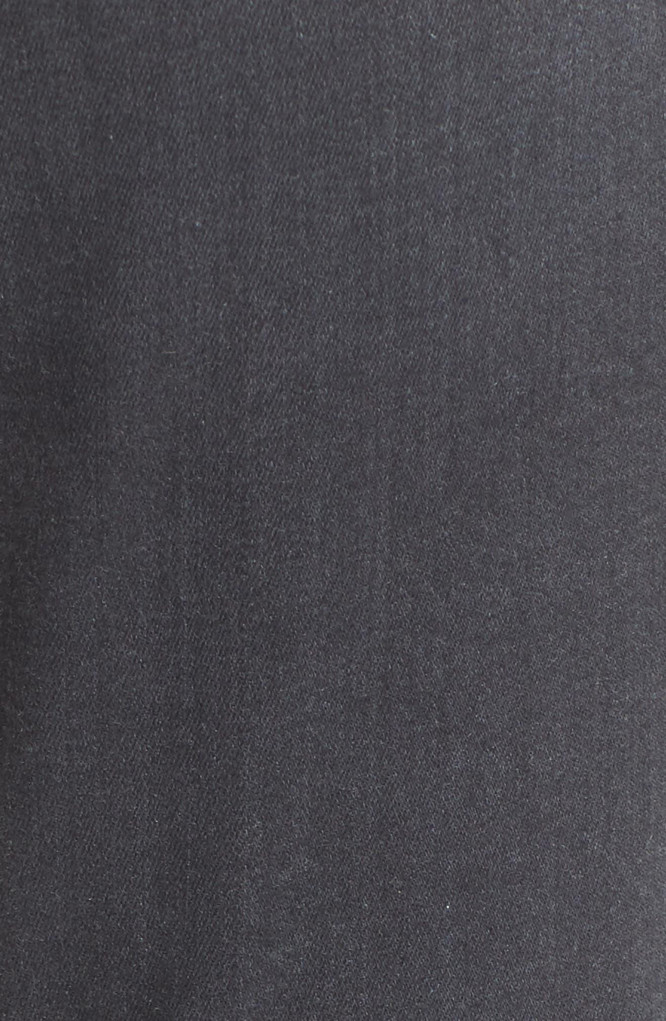 b(air) High Waist Skinny Jeans,                             Alternate thumbnail 6, color,                             B(Air) Smoke