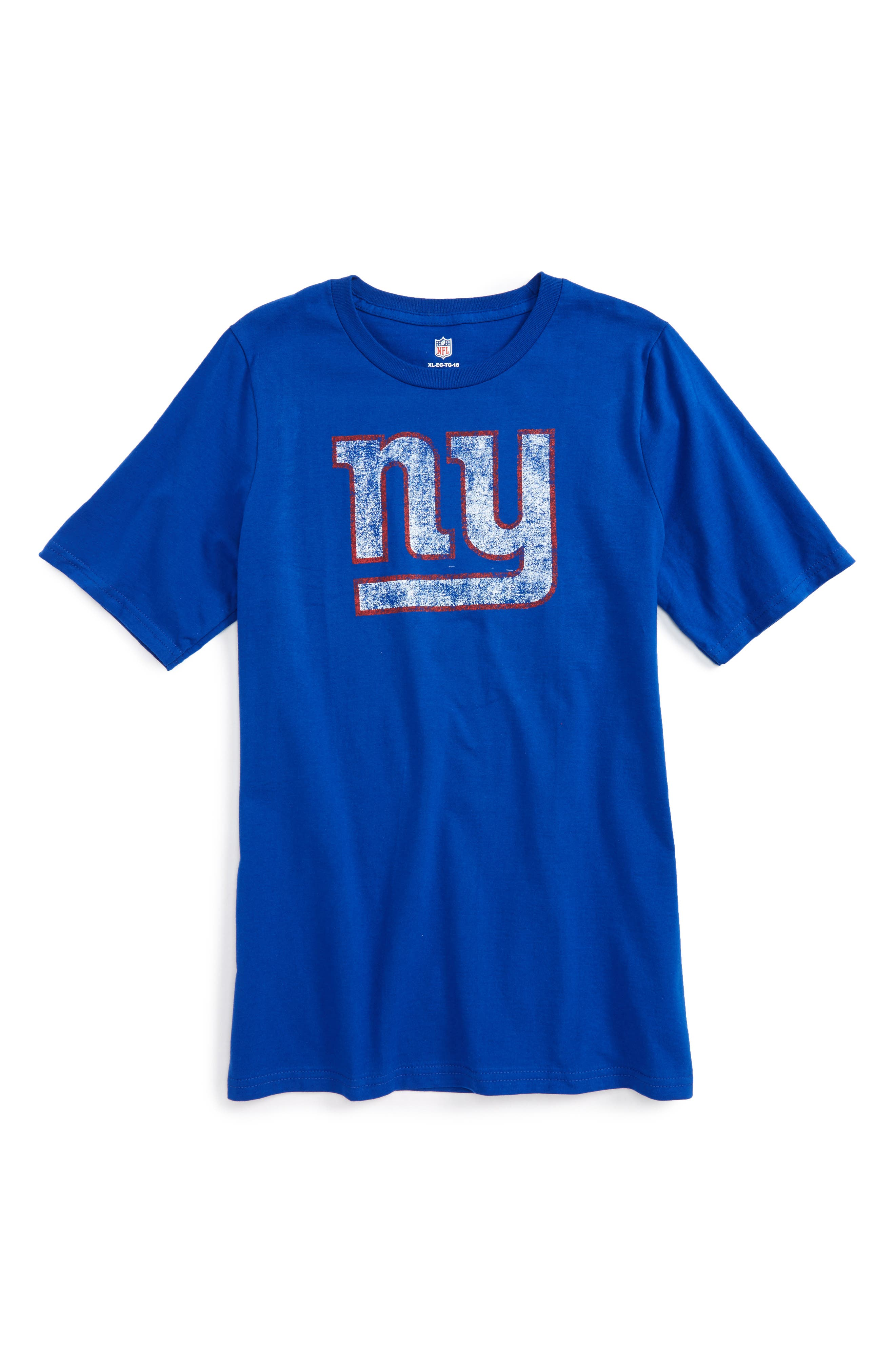Outerstuff NFL New York Giants Distressed Graphic T-Shirt (Big Boys)