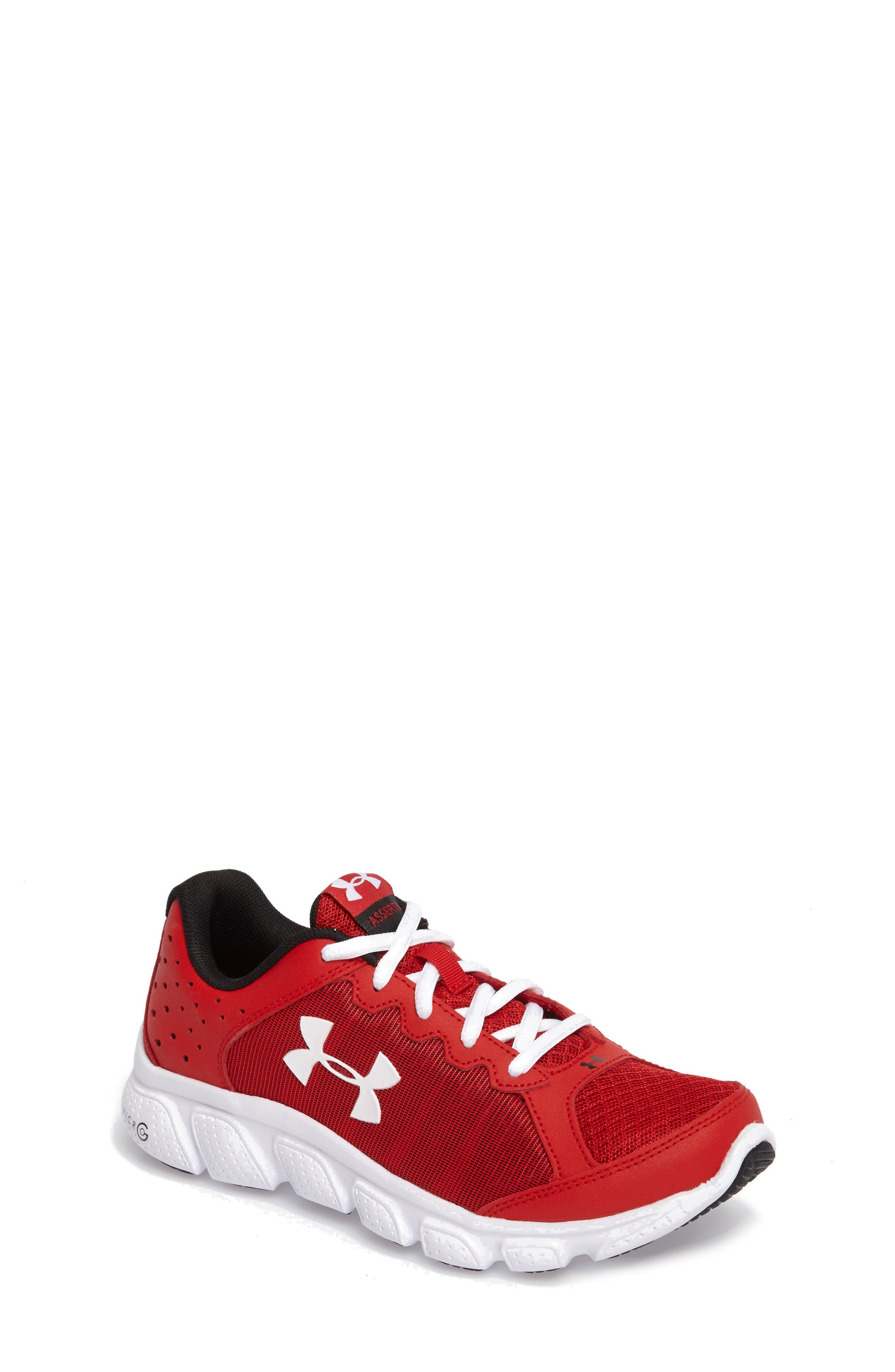 Under Armour 'Micro G® Assert VI' Running Shoe (Big Kid)
