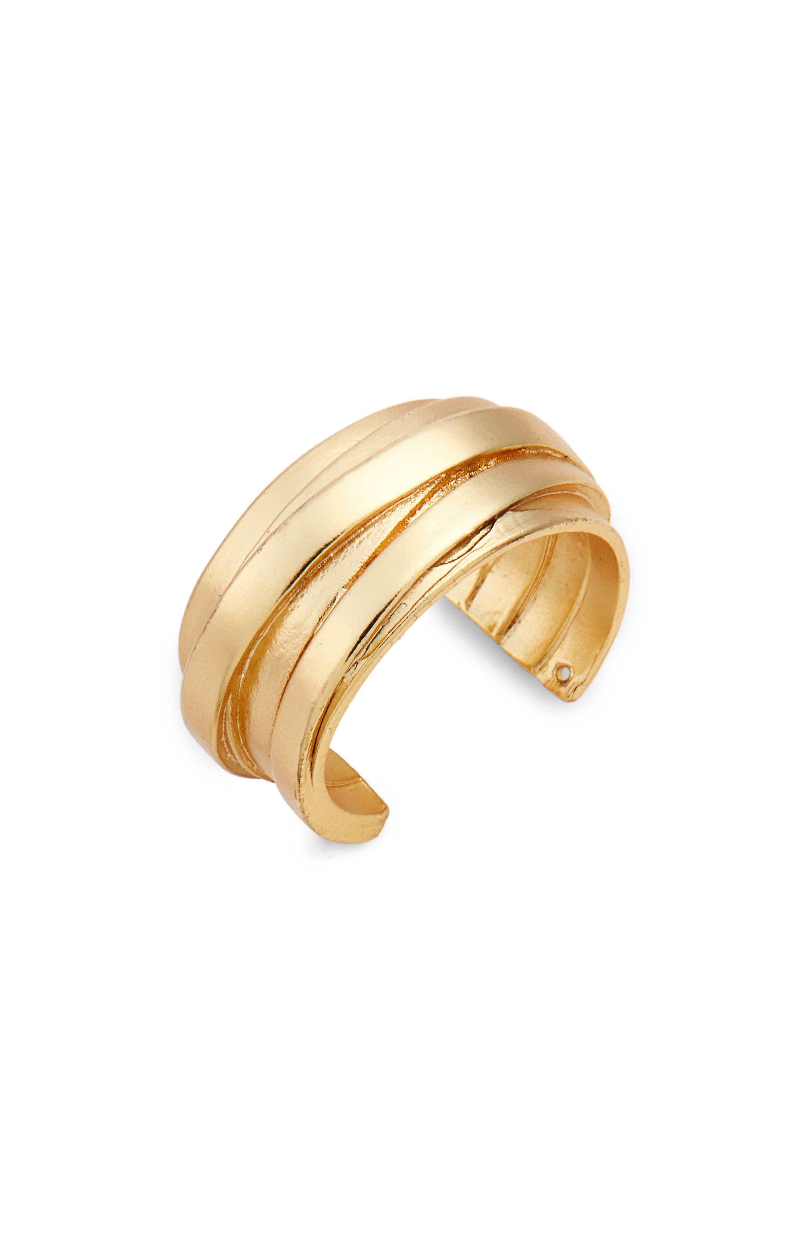 Karine Sultan Angelique Adjustable Ring