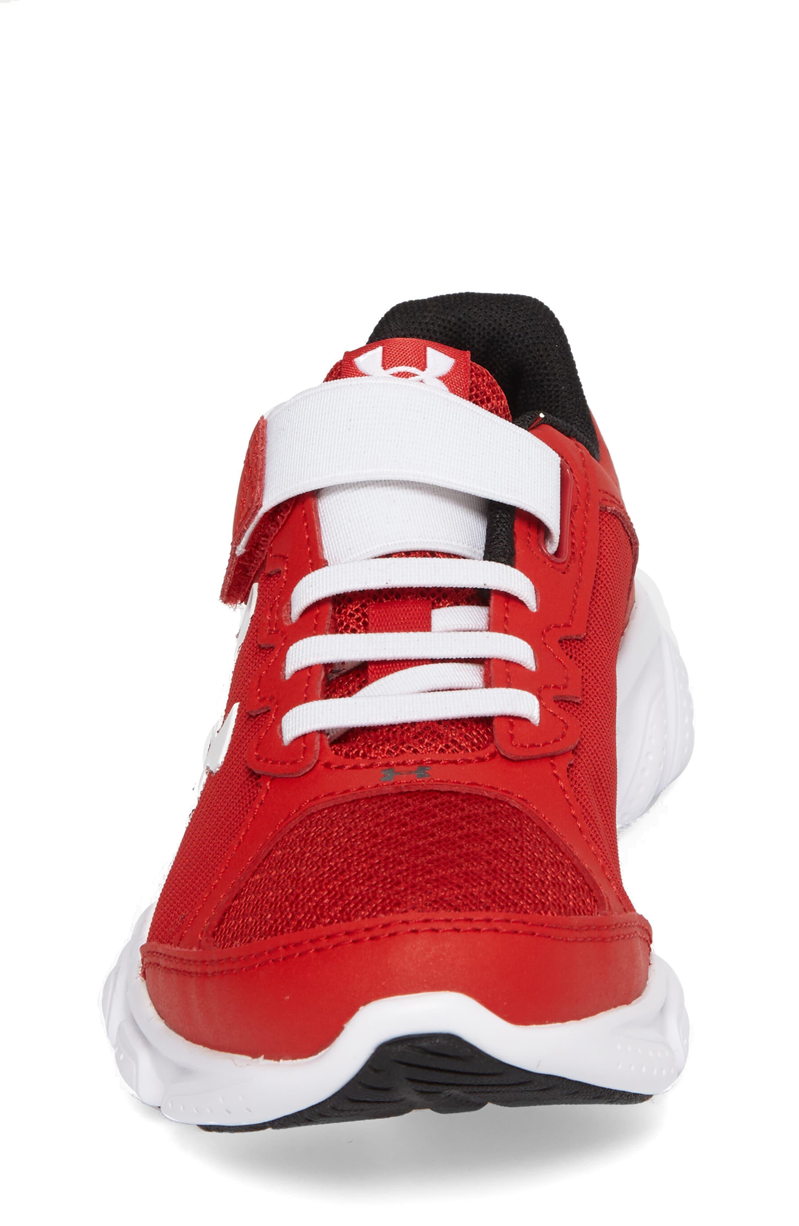 Alternate Image 4  - Under Armour 'Micro G® Assert VI' Running Shoe (Toddler & Little Kid)