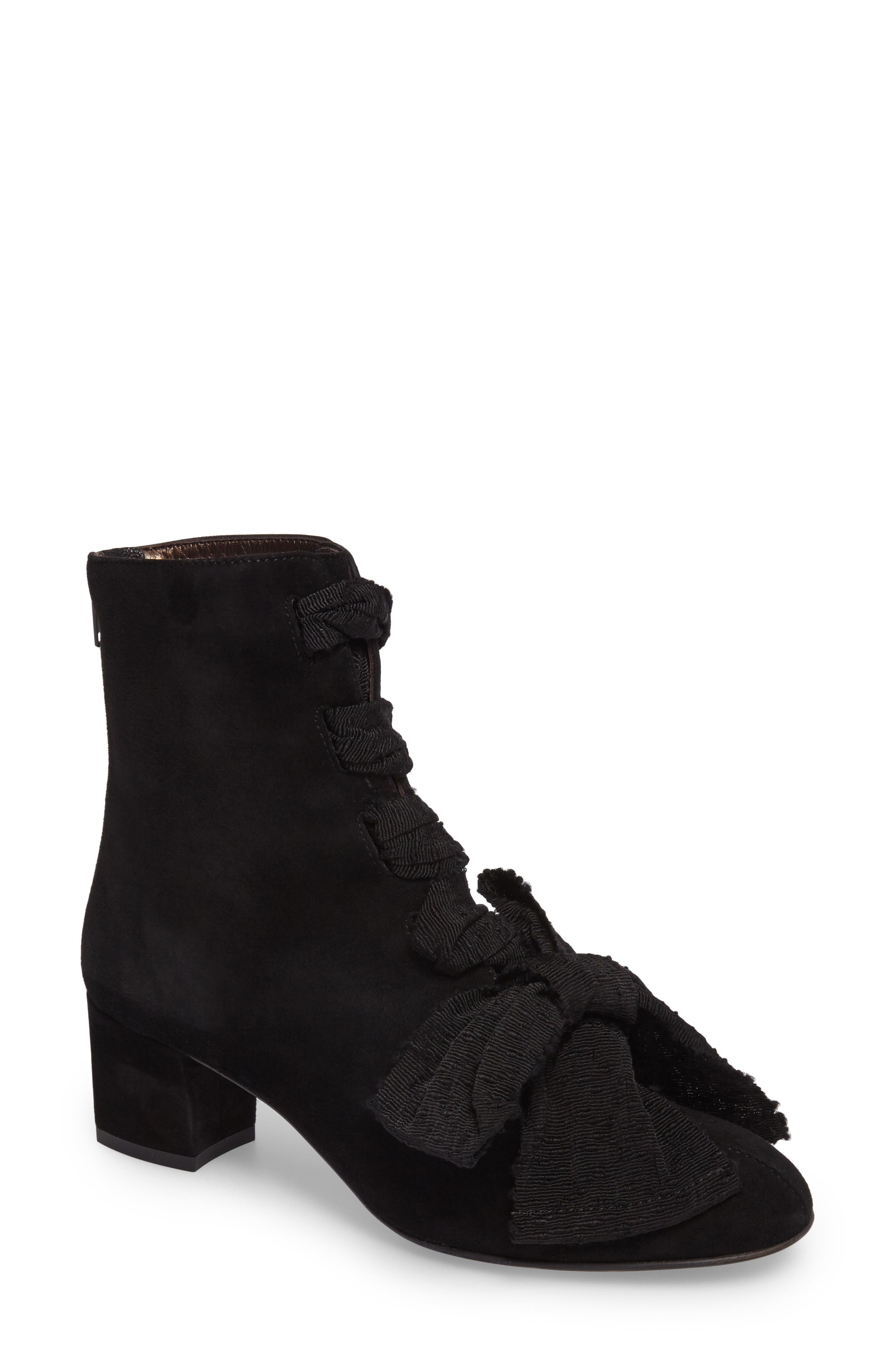 Alternate Image 1 Selected - AGL Bow Bootie (Women)