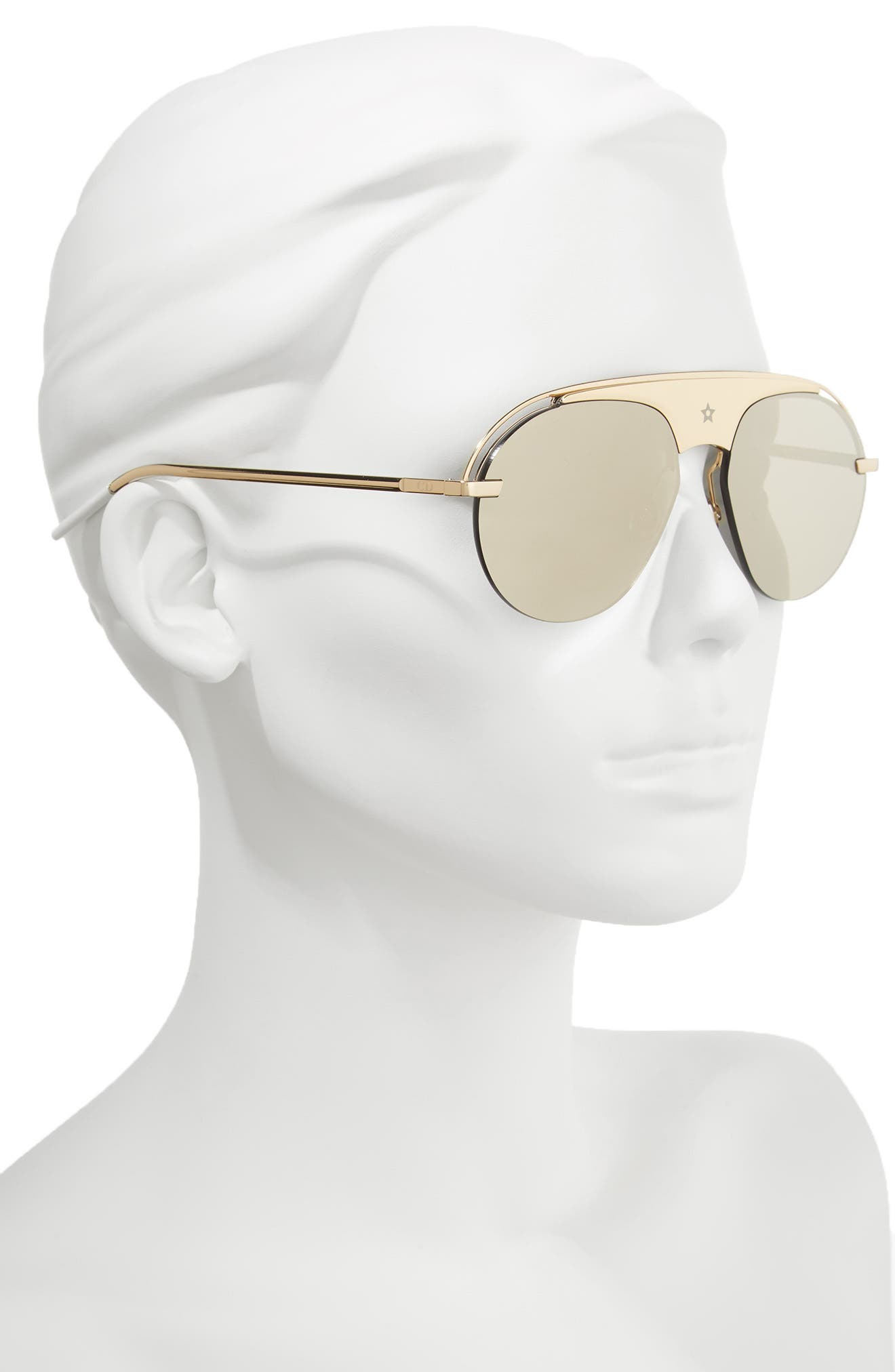 Alternate Image 2  - Dior Evolution 2 60mm Aviator Sunglasses